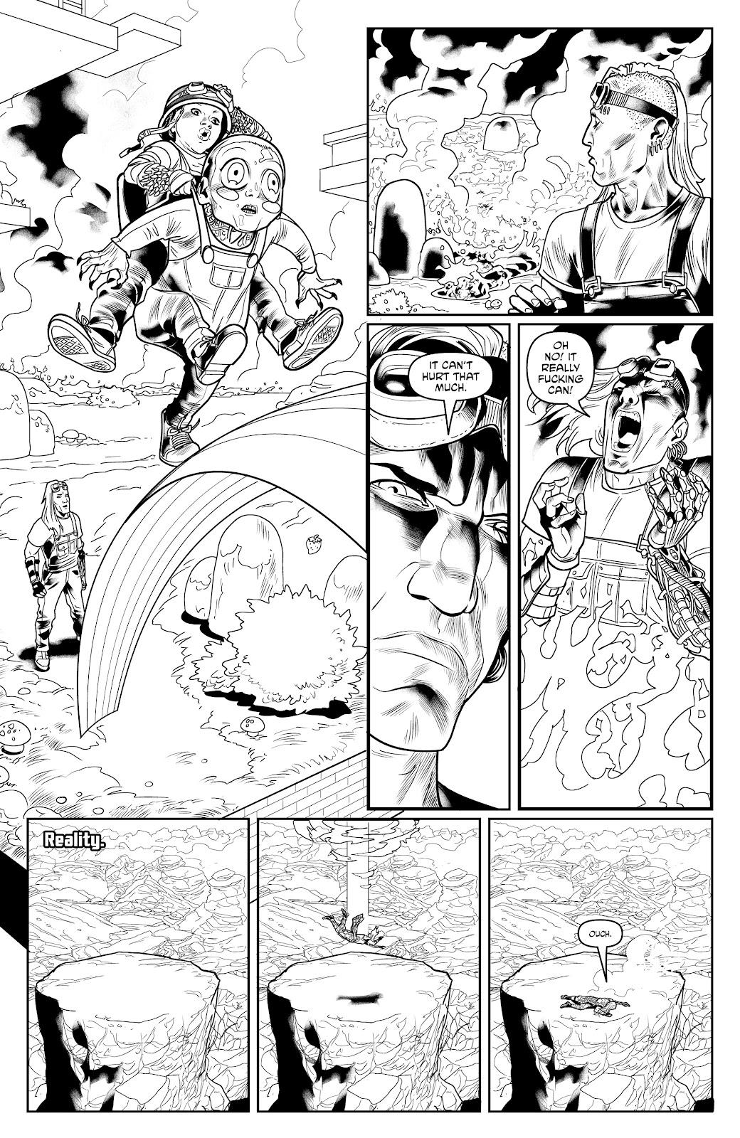 Read online Alan Moore's Cinema Purgatorio comic -  Issue #17 - 29