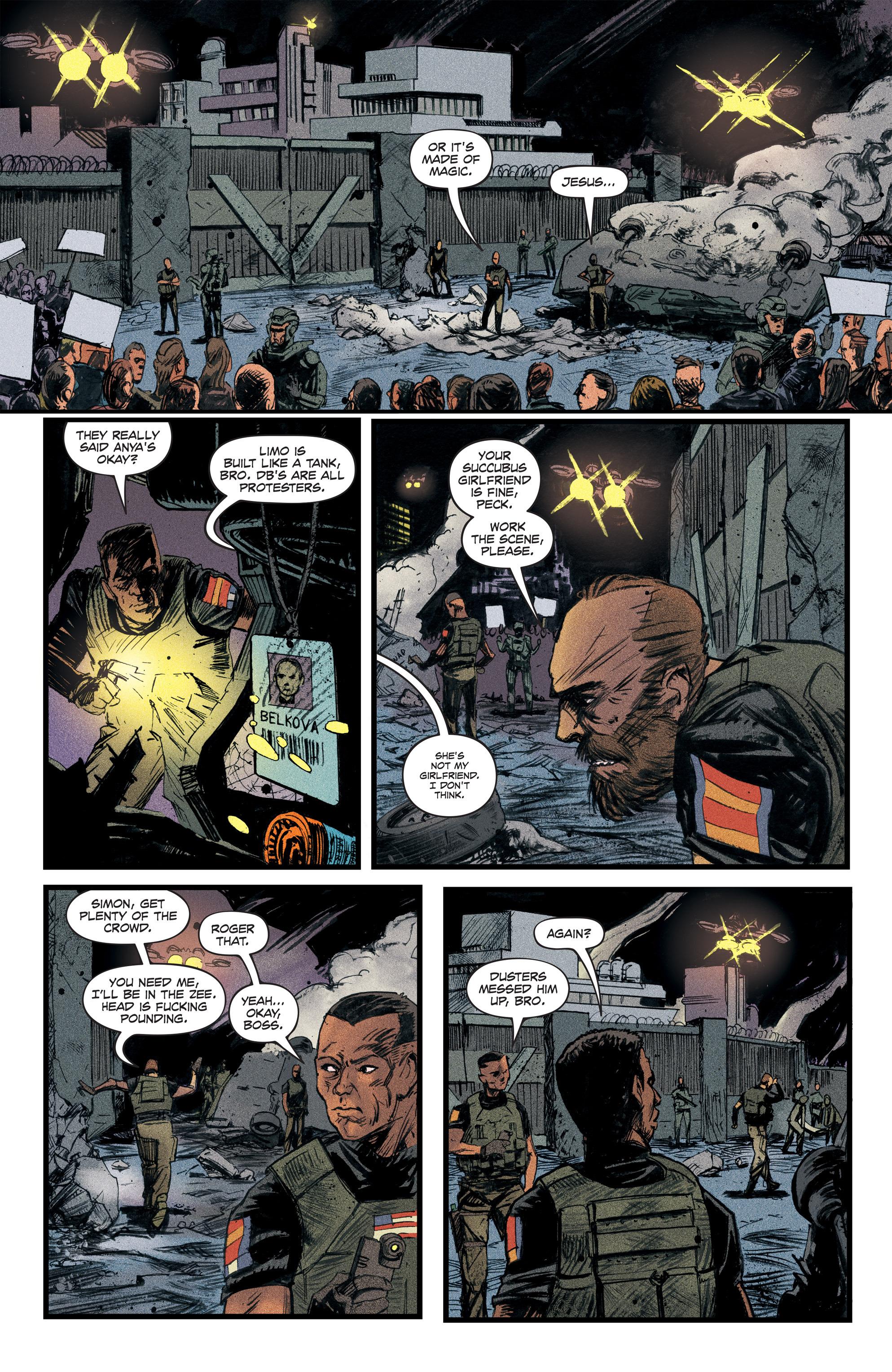 Read online Redline comic -  Issue #2 - 7