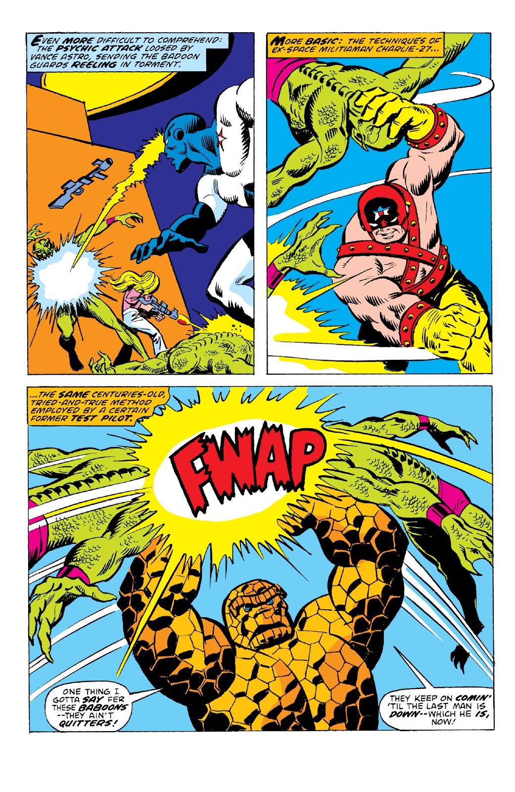Read online Marvel Two-In-One Epic Collection: Cry Monster comic -  Issue # TPB (Part 2) - 36