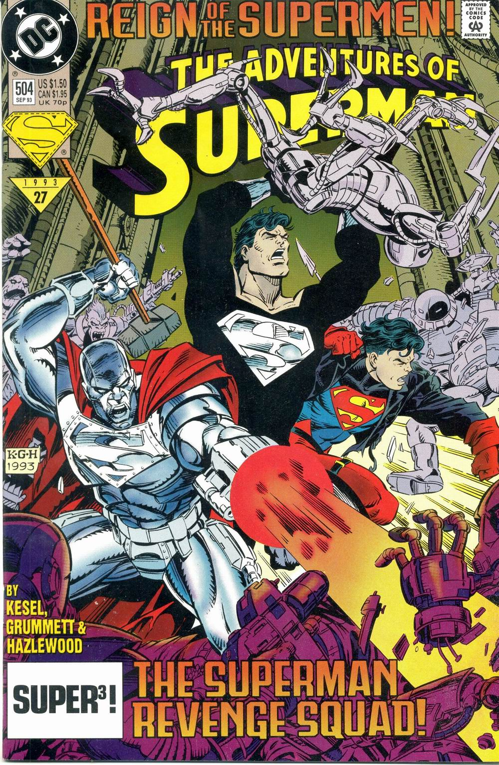 Read online Adventures of Superman (1987) comic -  Issue #504 - 1