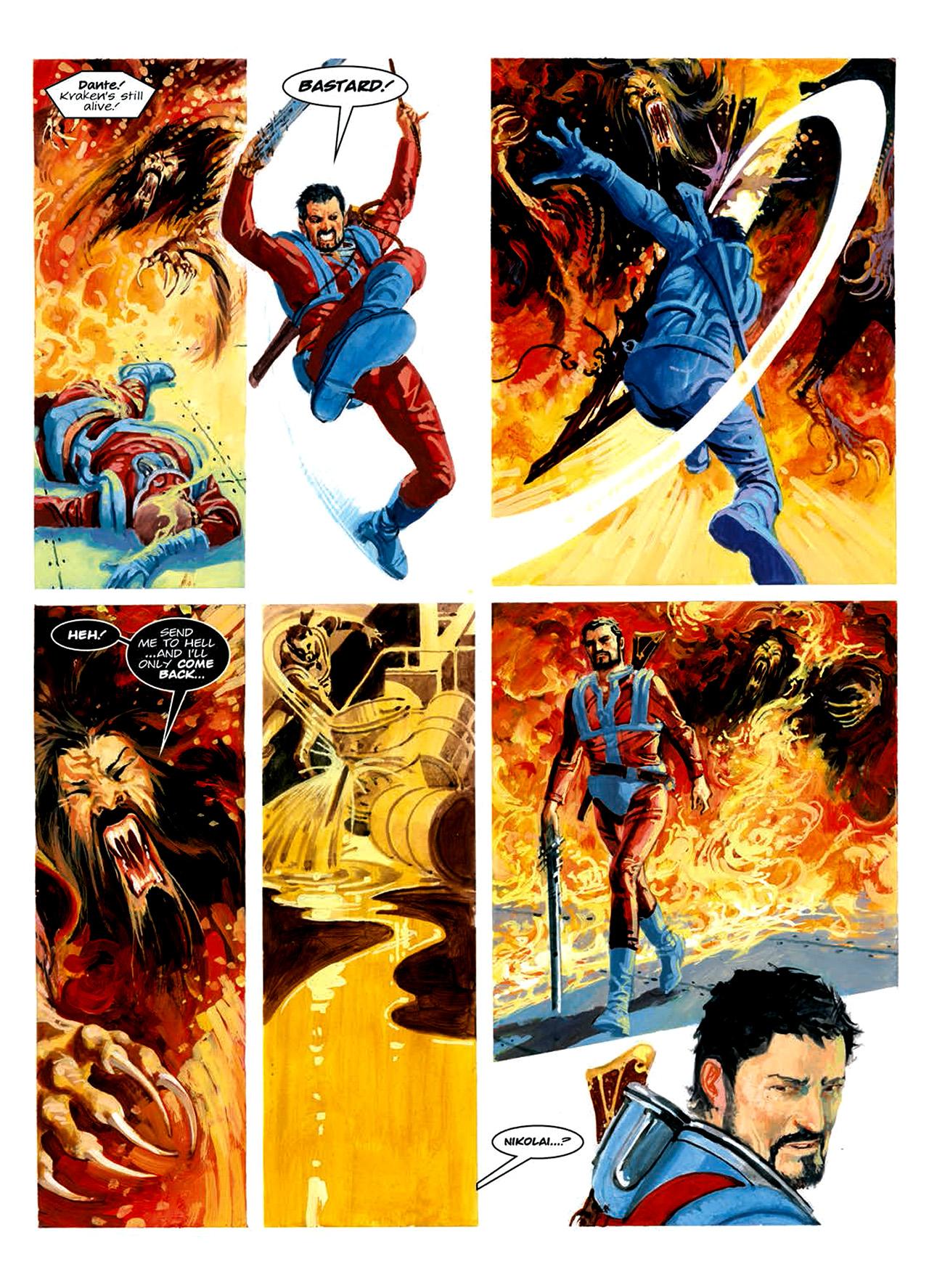 Read online Nikolai Dante comic -  Issue # TPB 6 - 201