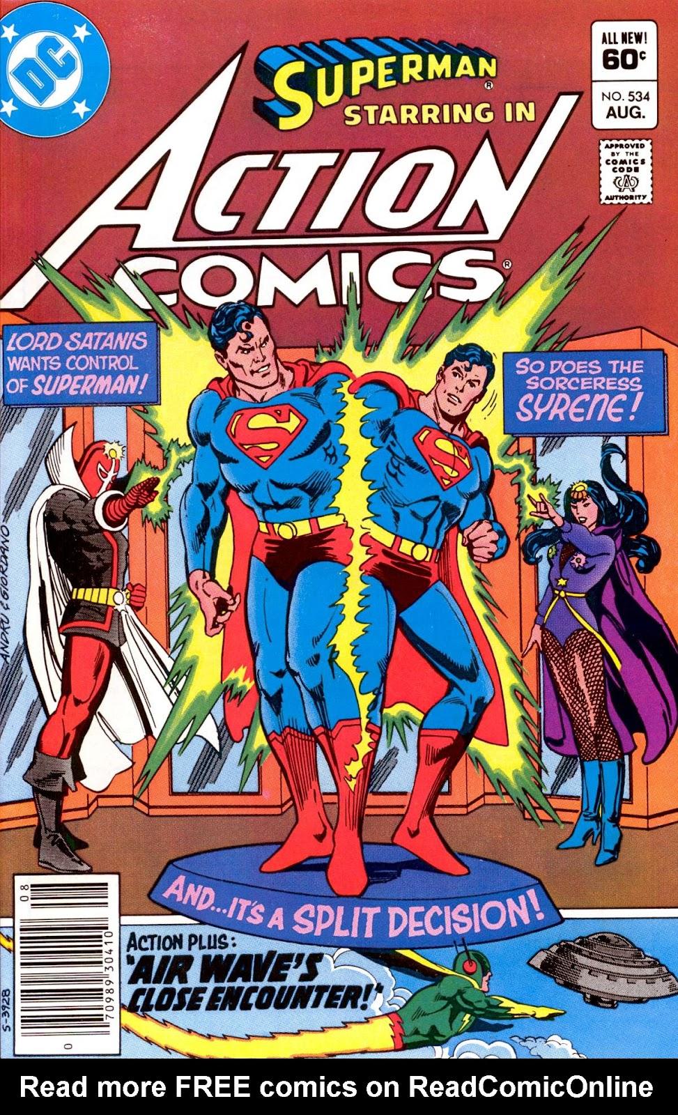 Action Comics (1938) 534 Page 1