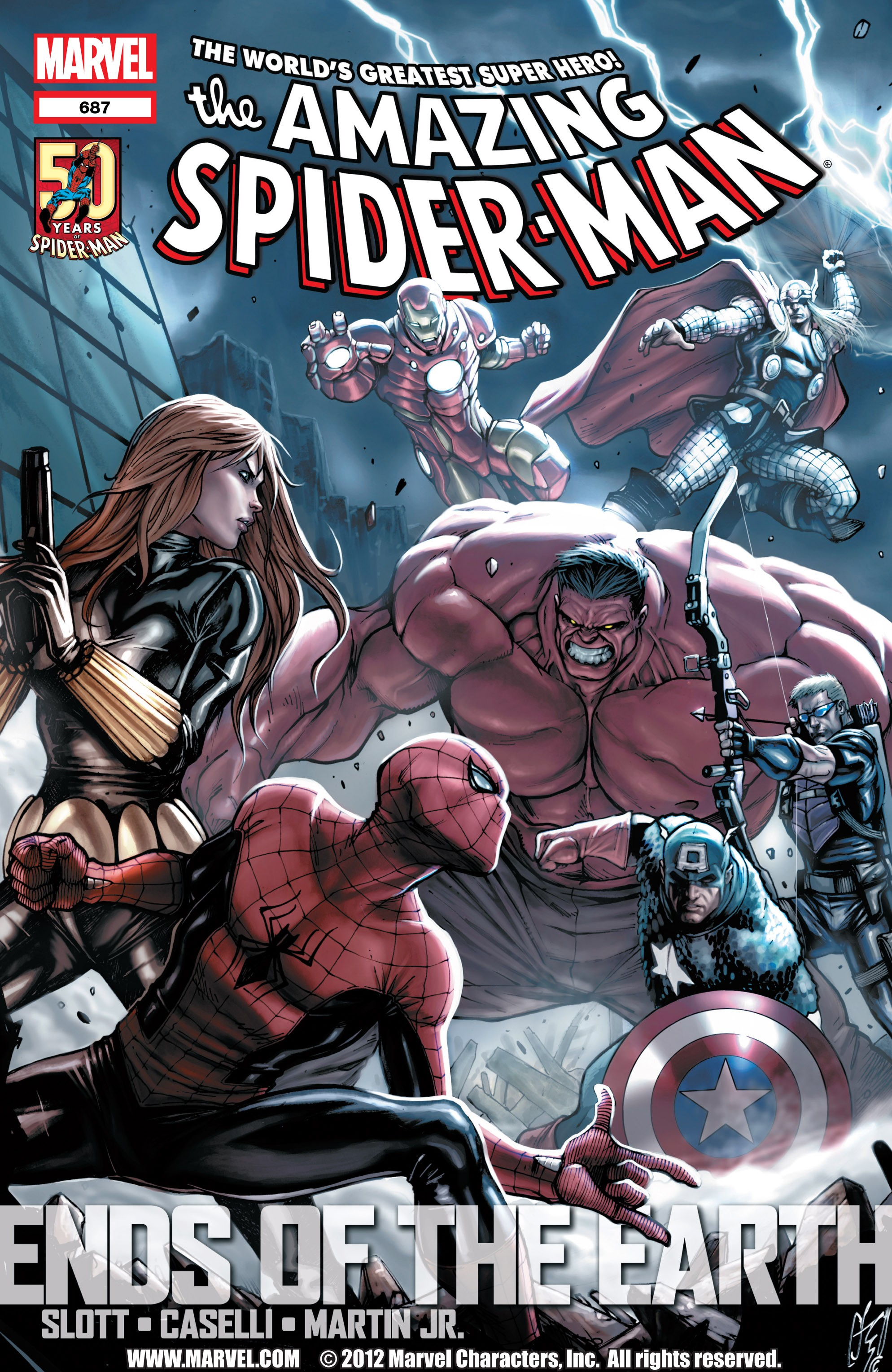 The Amazing Spider-Man (1963) 687 Page 1