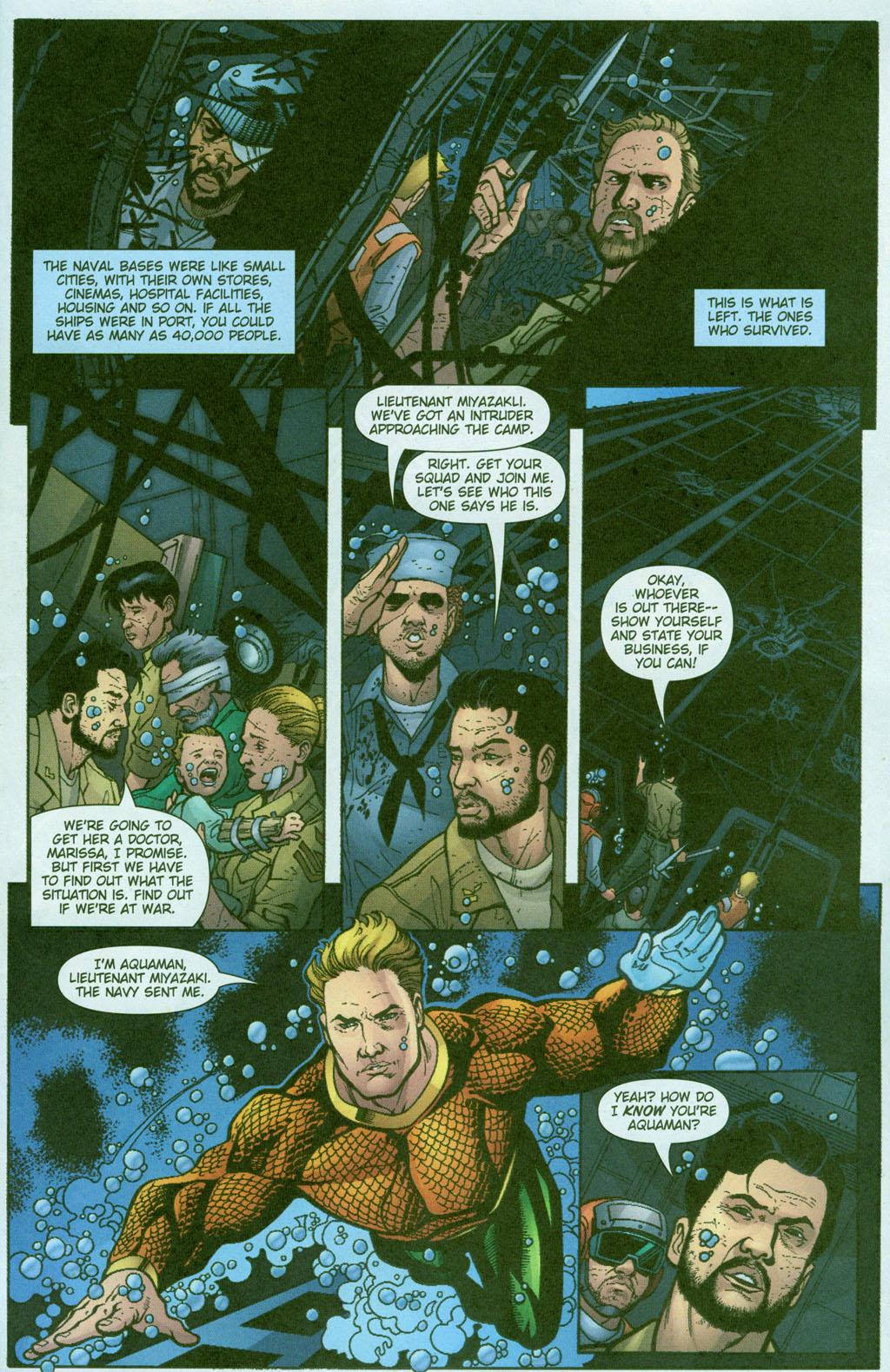 Read online Aquaman (2003) comic -  Issue #23 - 14