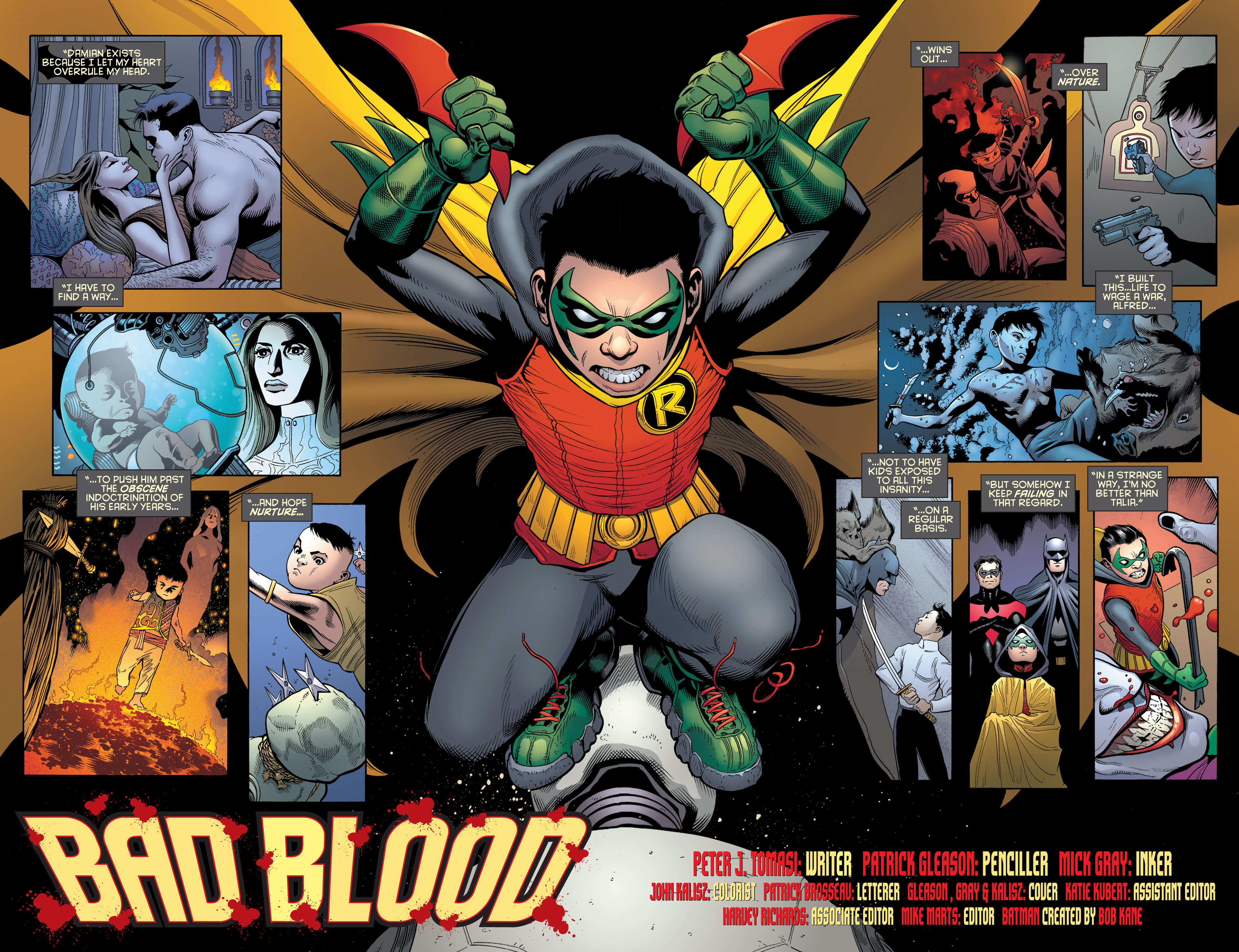 Read online Batman and Robin (2011) comic -  Issue #2 - 3