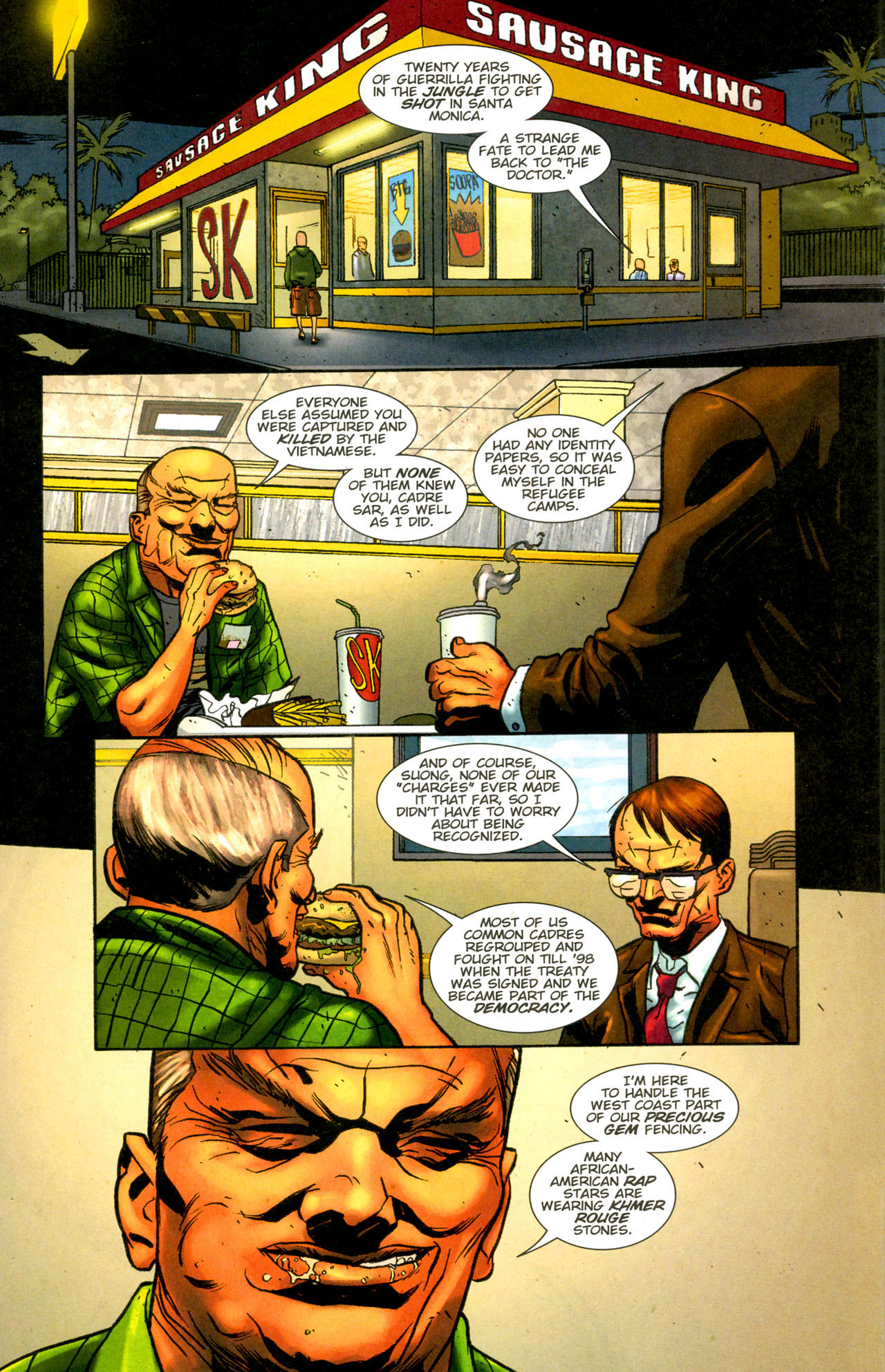 Read online The Exterminators comic -  Issue #12 - 13
