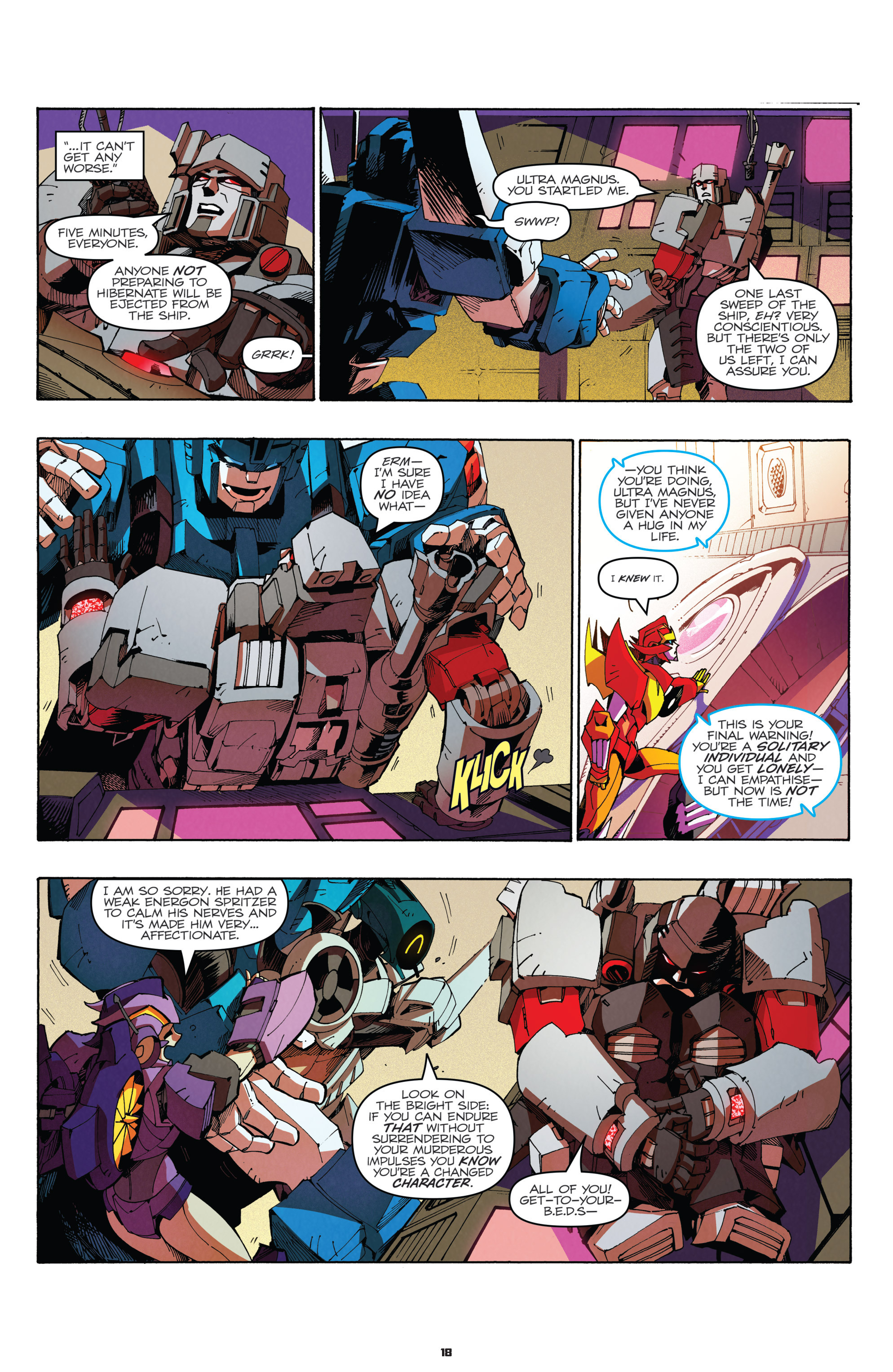 Read online Transformers: Holiday Special comic -  Issue # Full - 20