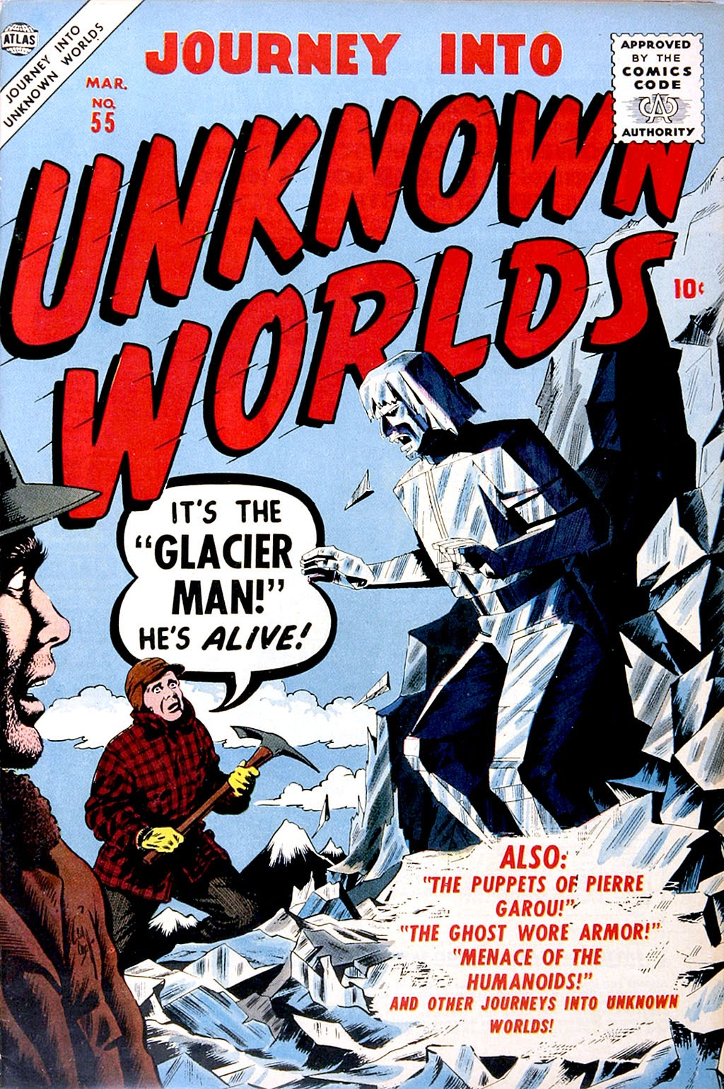 Journey Into Unknown Worlds (1950) issue 55 - Page 1