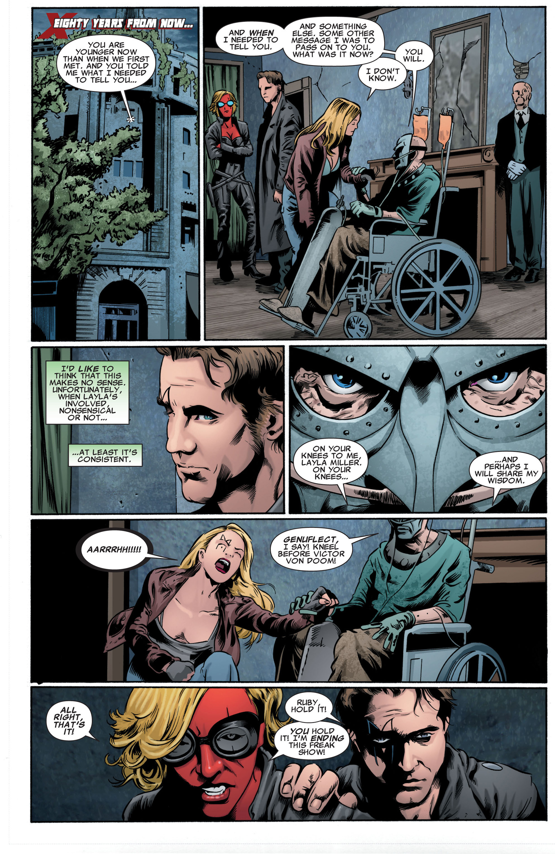 Read online X-Factor (2006) comic -  Issue #46 - 14