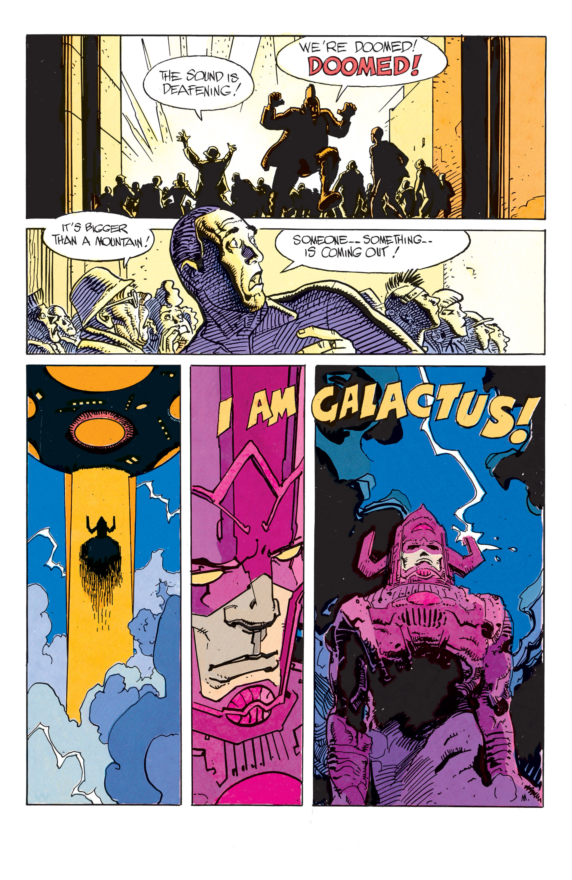 Read online Silver Surfer: Parable comic -  Issue # TPB - 12