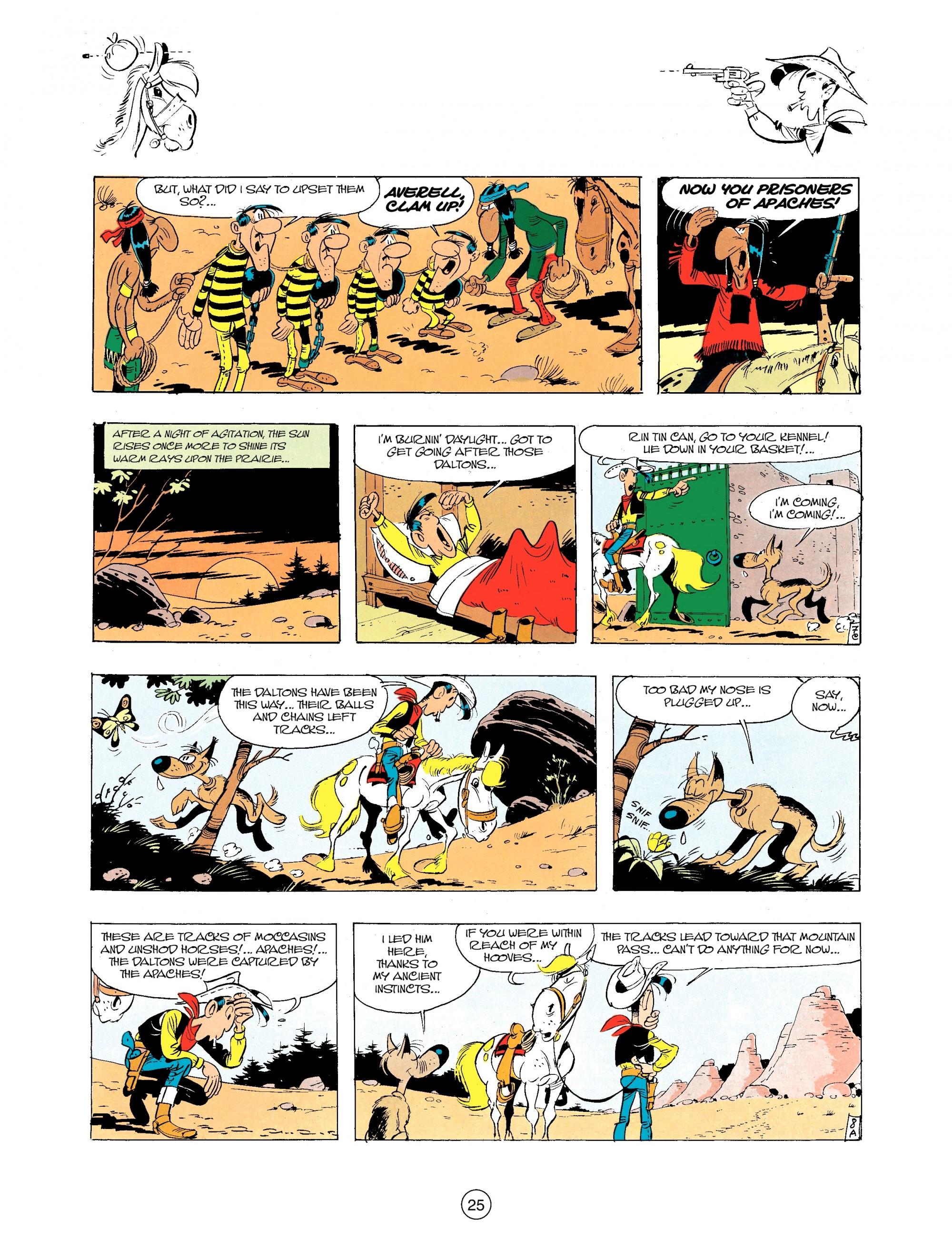 Read online A Lucky Luke Adventure comic -  Issue #34 - 25