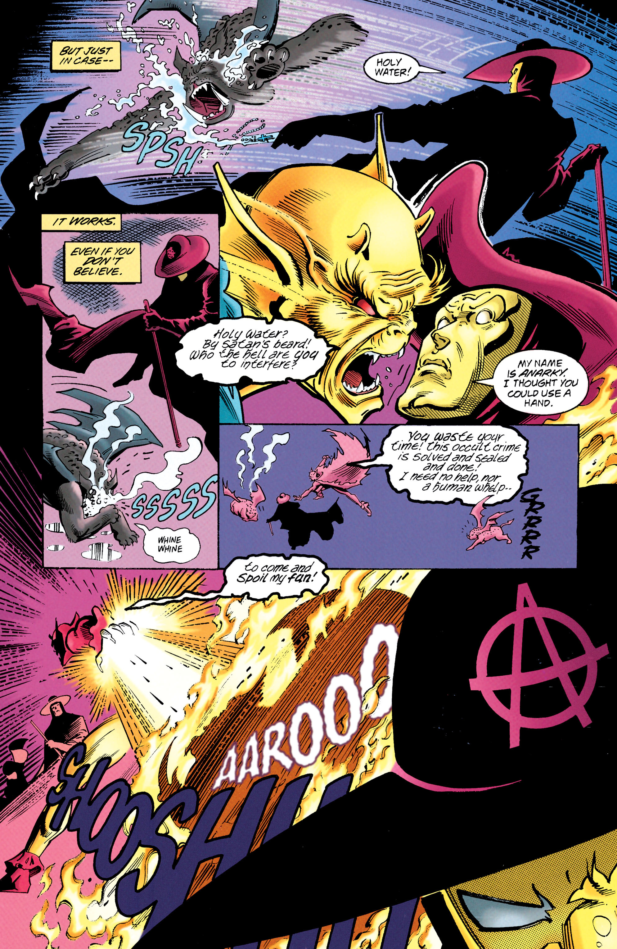 Read online Anarky (1997) comic -  Issue #1 - 6