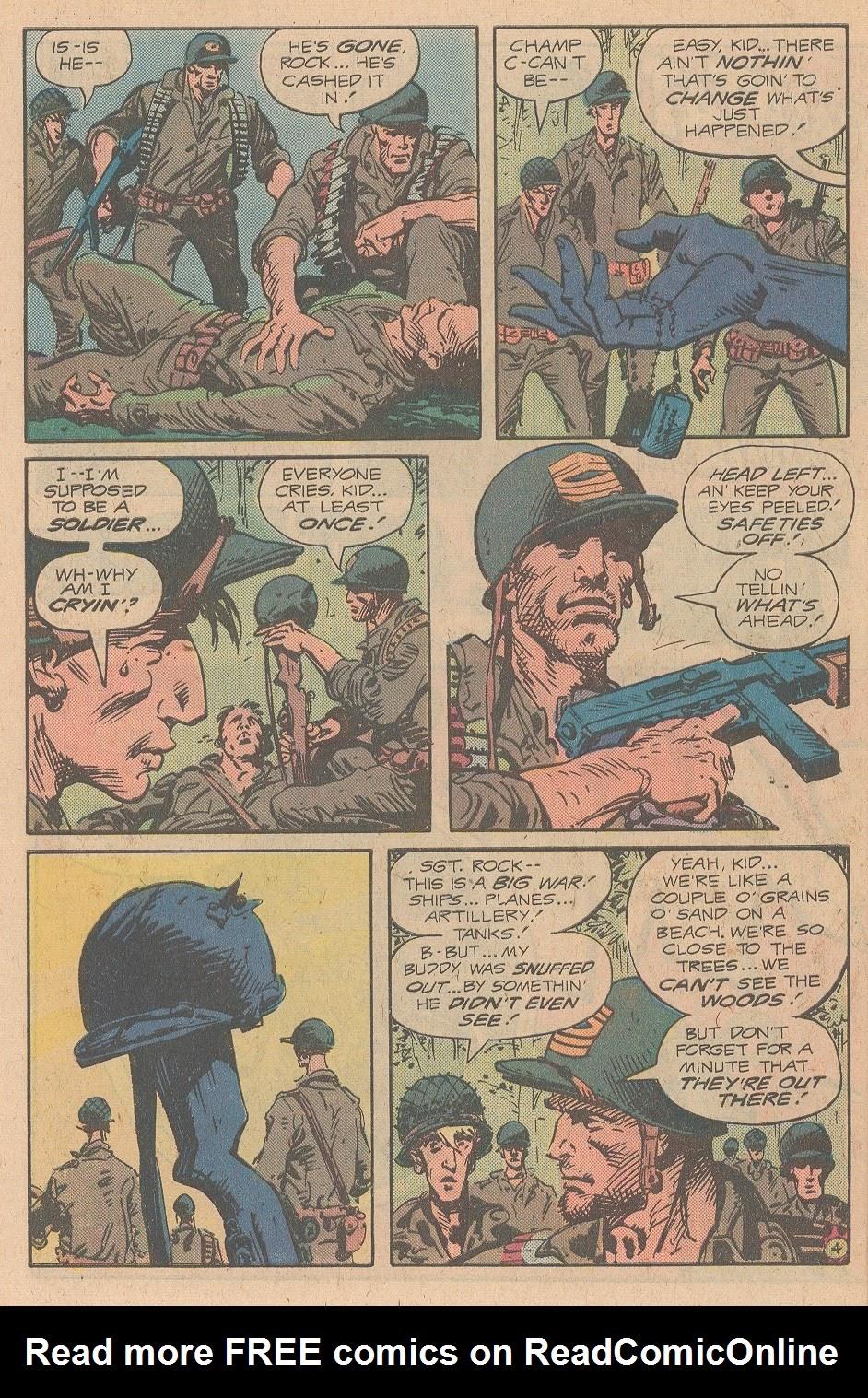 Read online Sgt. Rock comic -  Issue #346 - 5