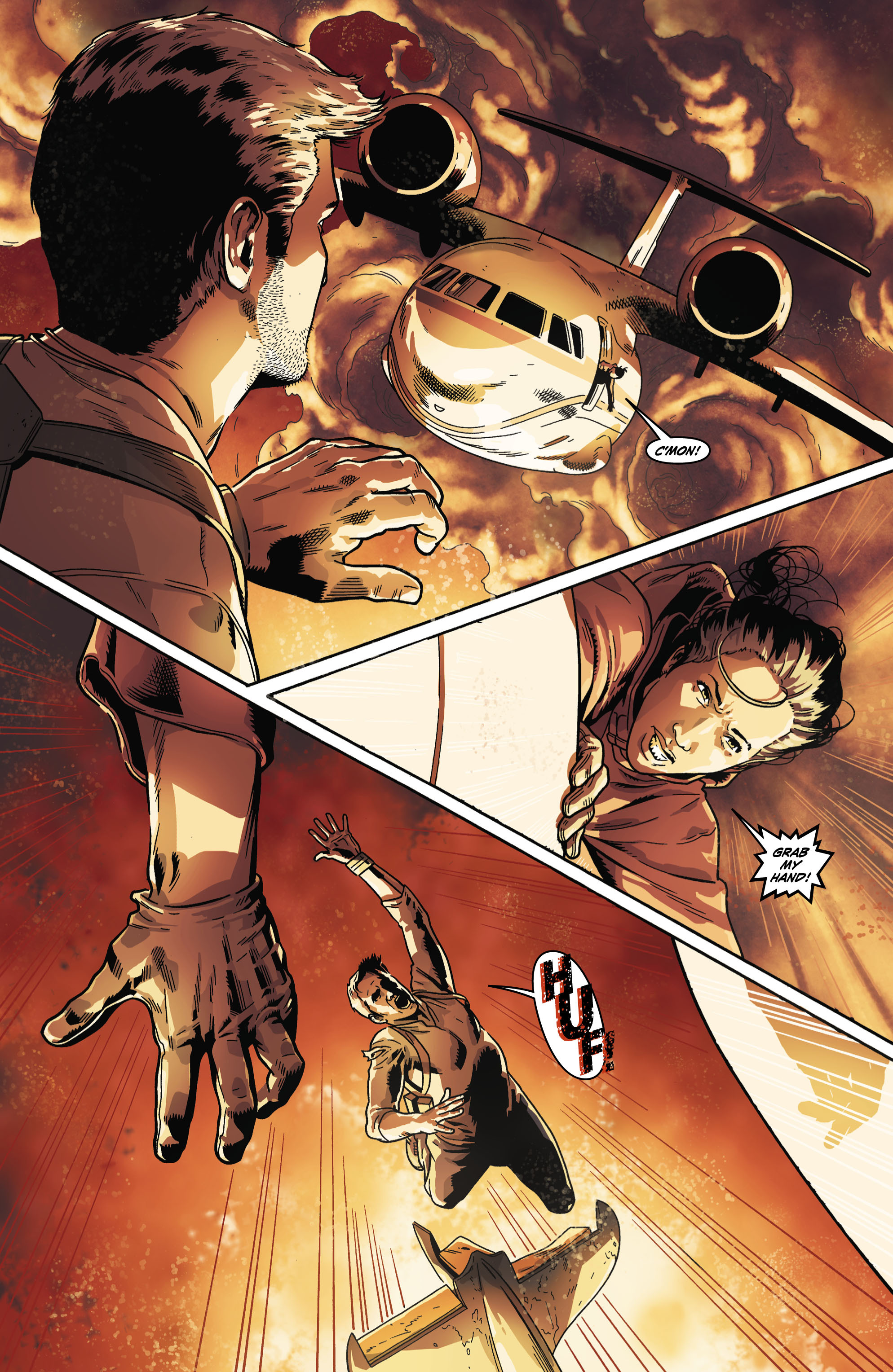 Read online Uncharted comic -  Issue #6 - 13