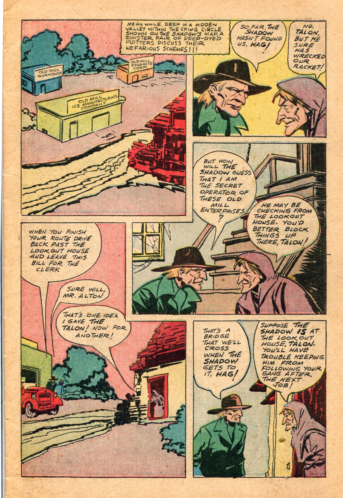 Read online Shadow Comics comic -  Issue #60 - 5