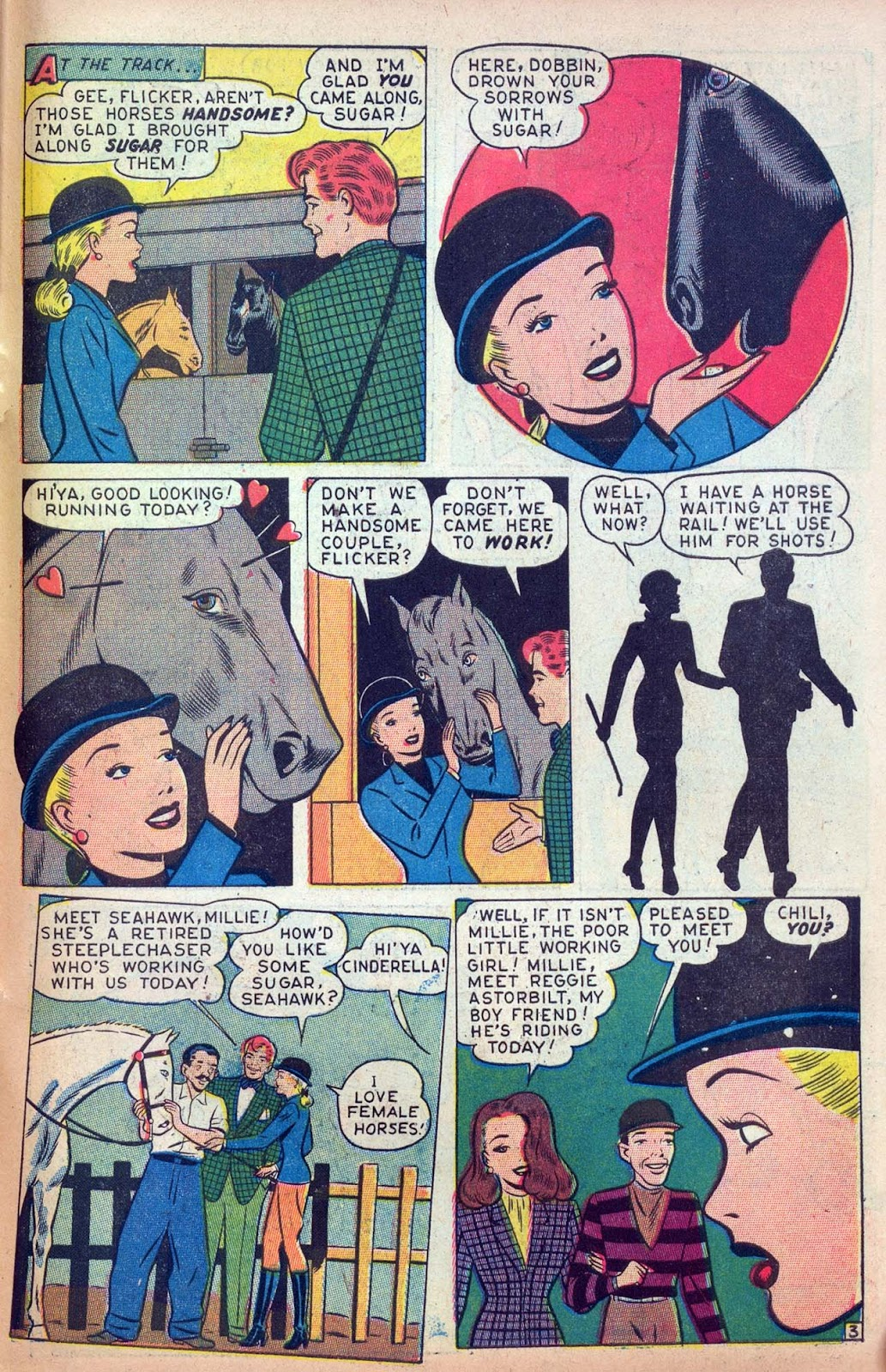 Read online Millie the Model comic -  Issue #13 - 45