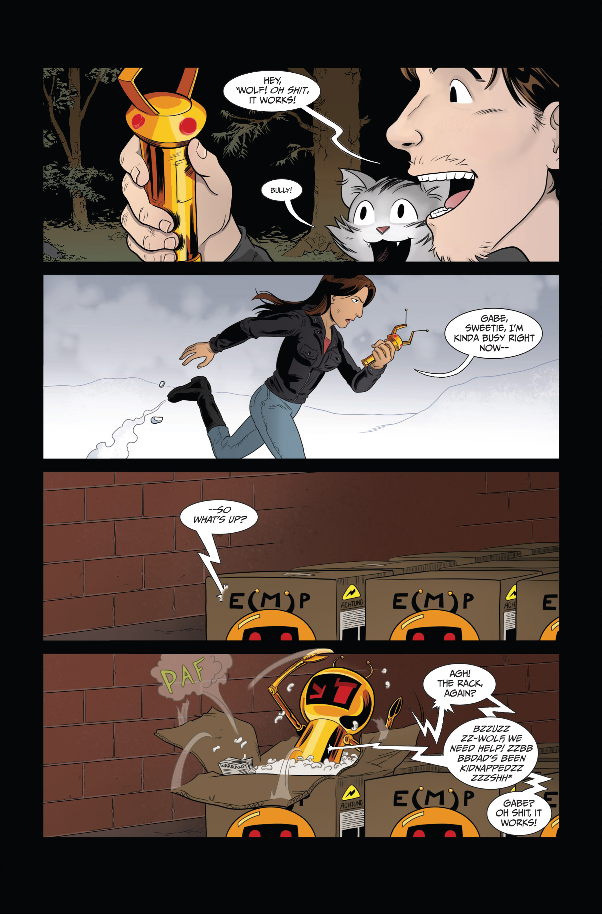 Read online Ehmm Theory: Everything & Small Doses comic -  Issue #3 - 15