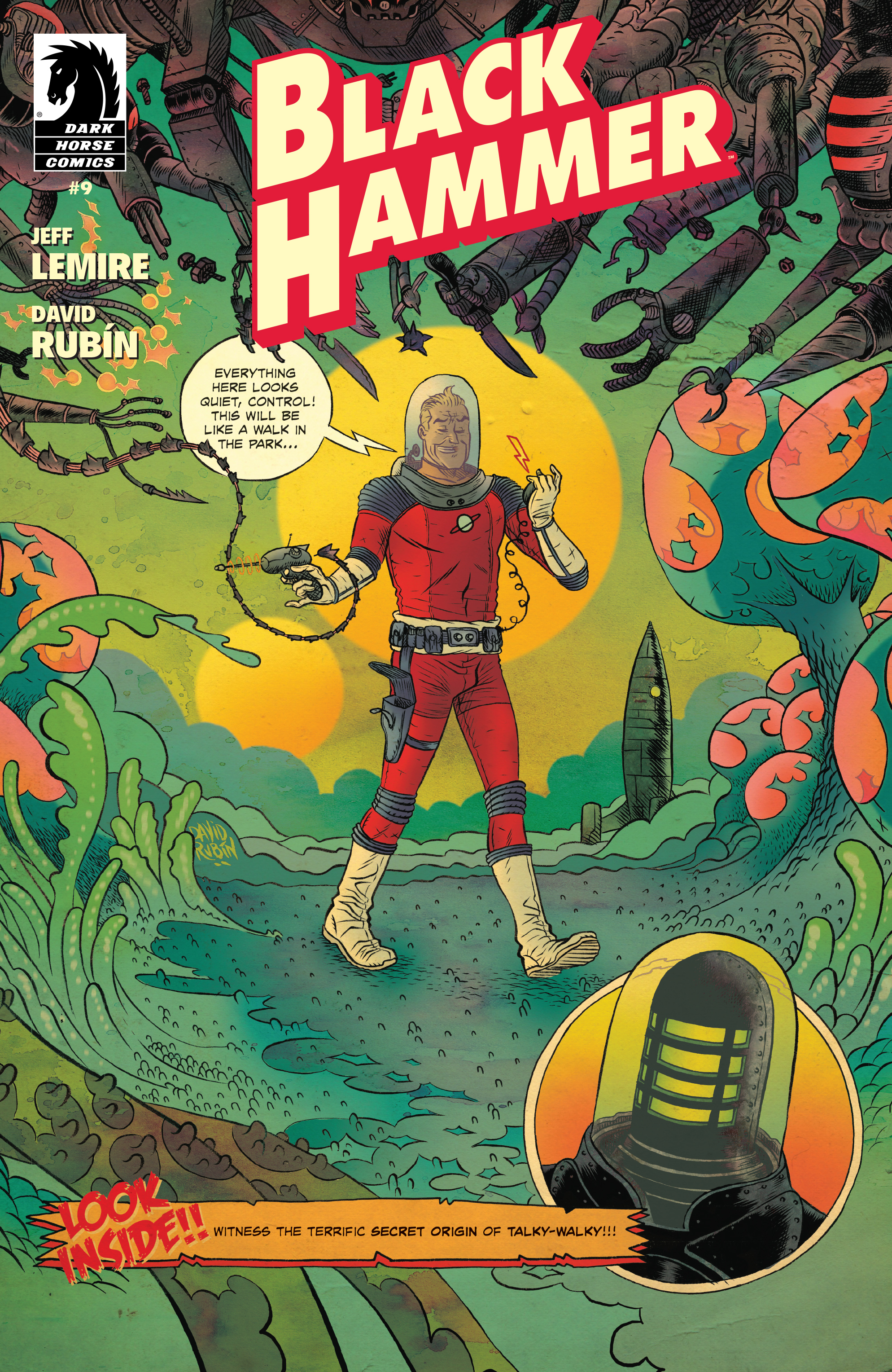 Read online Black Hammer comic -  Issue #9 - 1