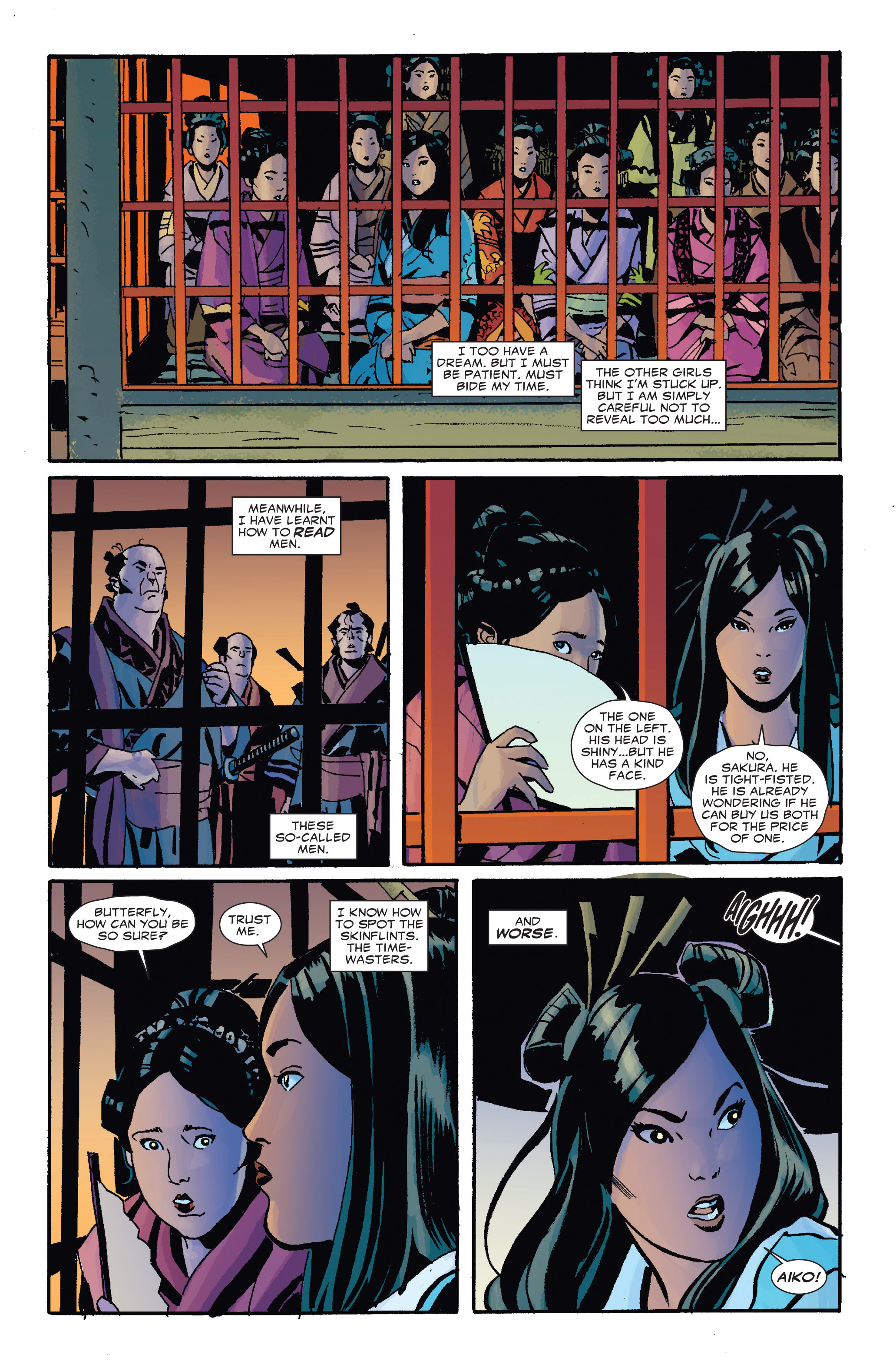 Read online 5 Ronin (2011) comic -  Issue #4 - 6