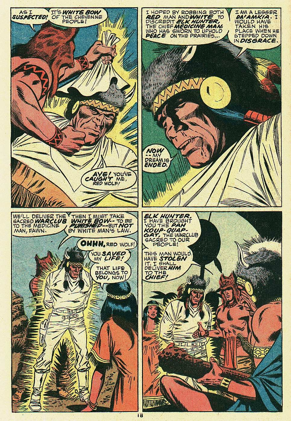 Red Wolf (1972) issue 6 - Page 14