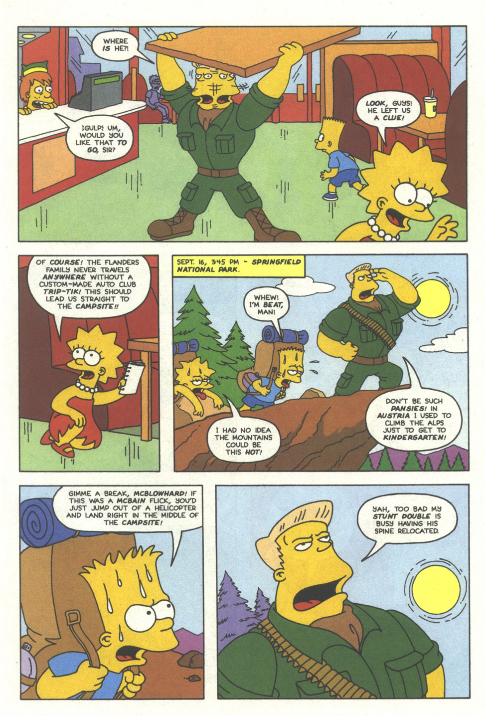 Read online Simpsons Comics comic -  Issue #11 - 14
