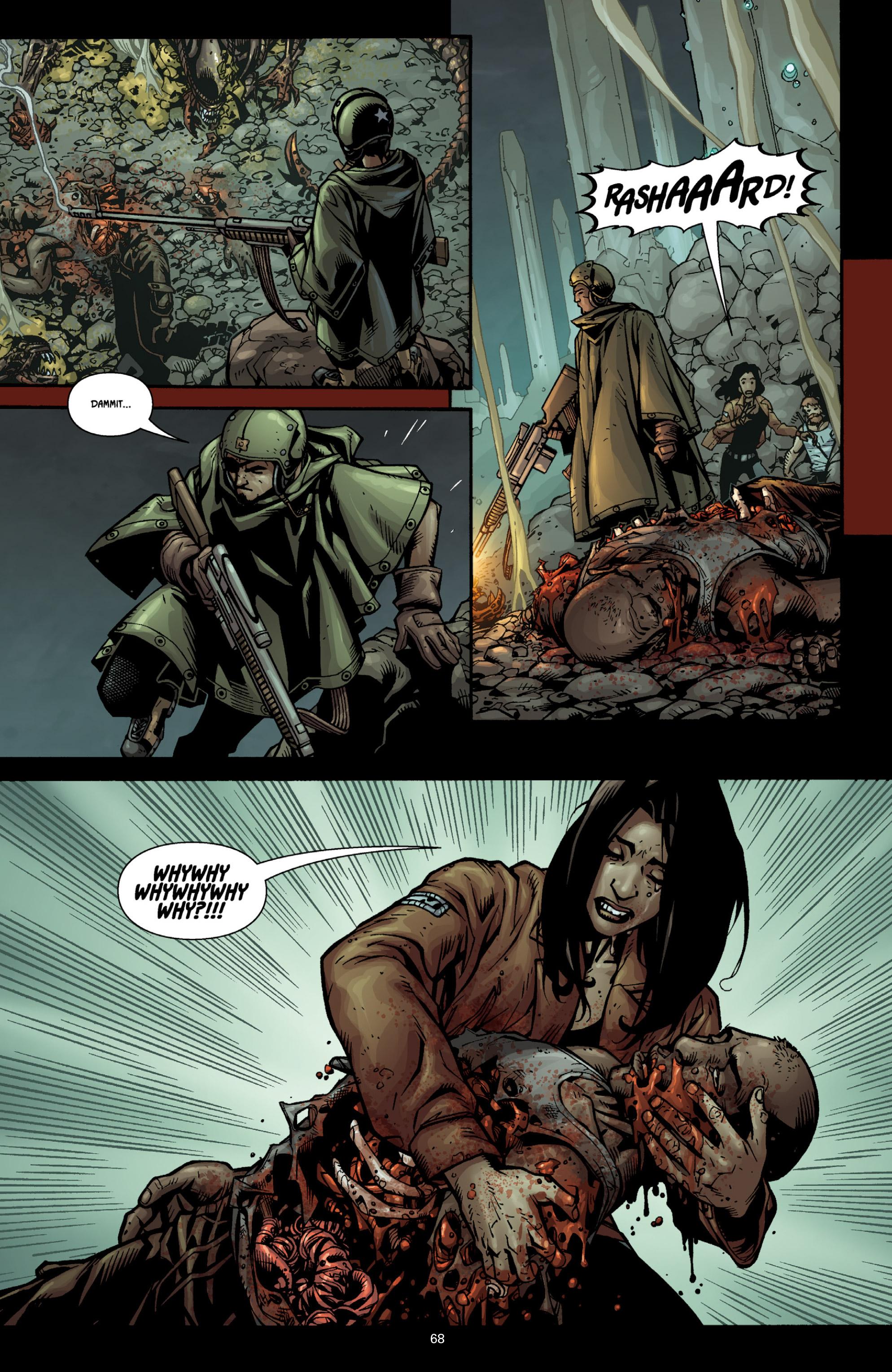 Read online Aliens (2009) comic -  Issue # TPB - 64