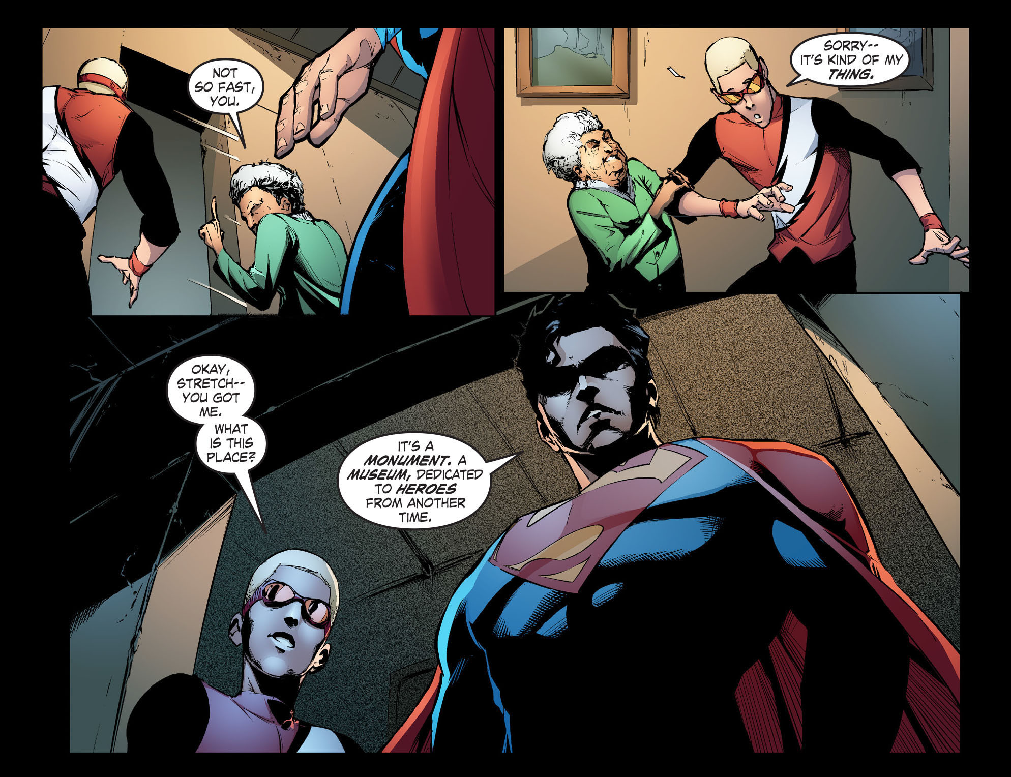 Read online Smallville: Season 11 comic -  Issue #31 - 16