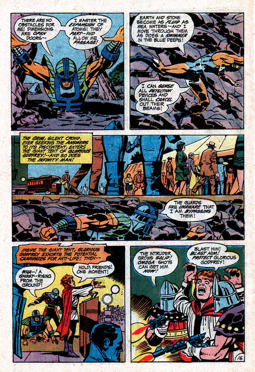 Forever People (1971) issue 3 - Page 21
