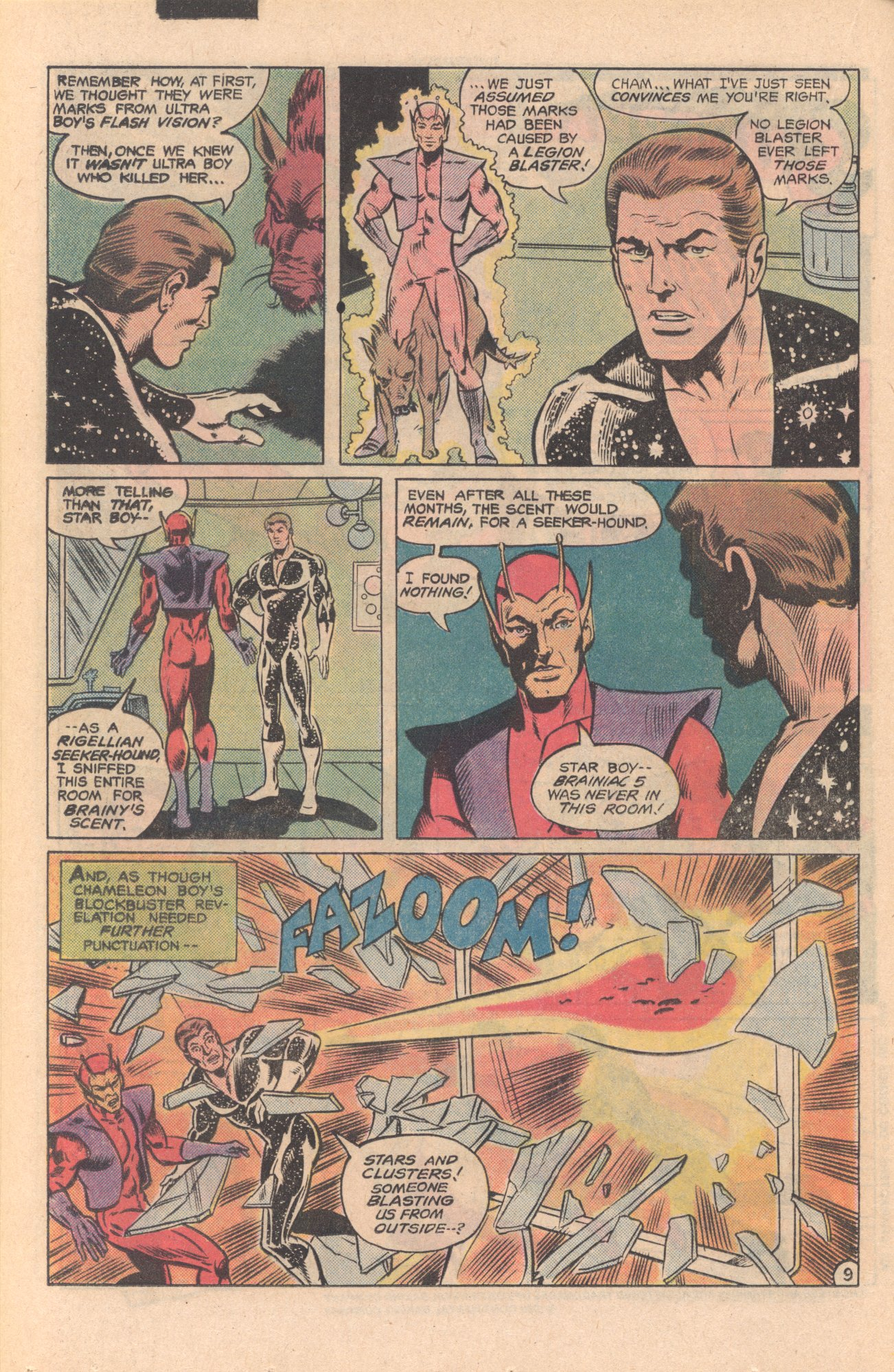 Legion of Super-Heroes (1980) 273 Page 9