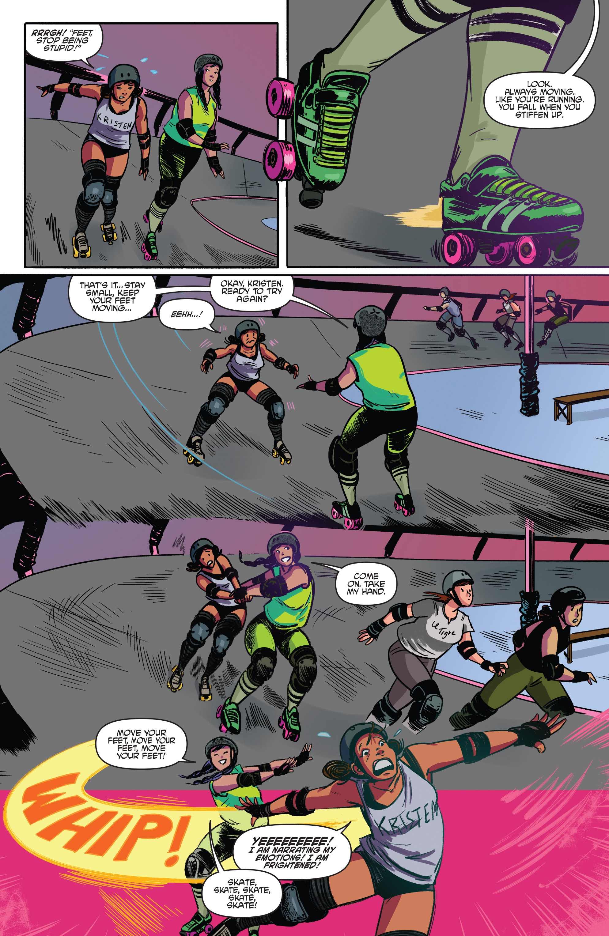 Read online Slam! comic -  Issue #3 - 16