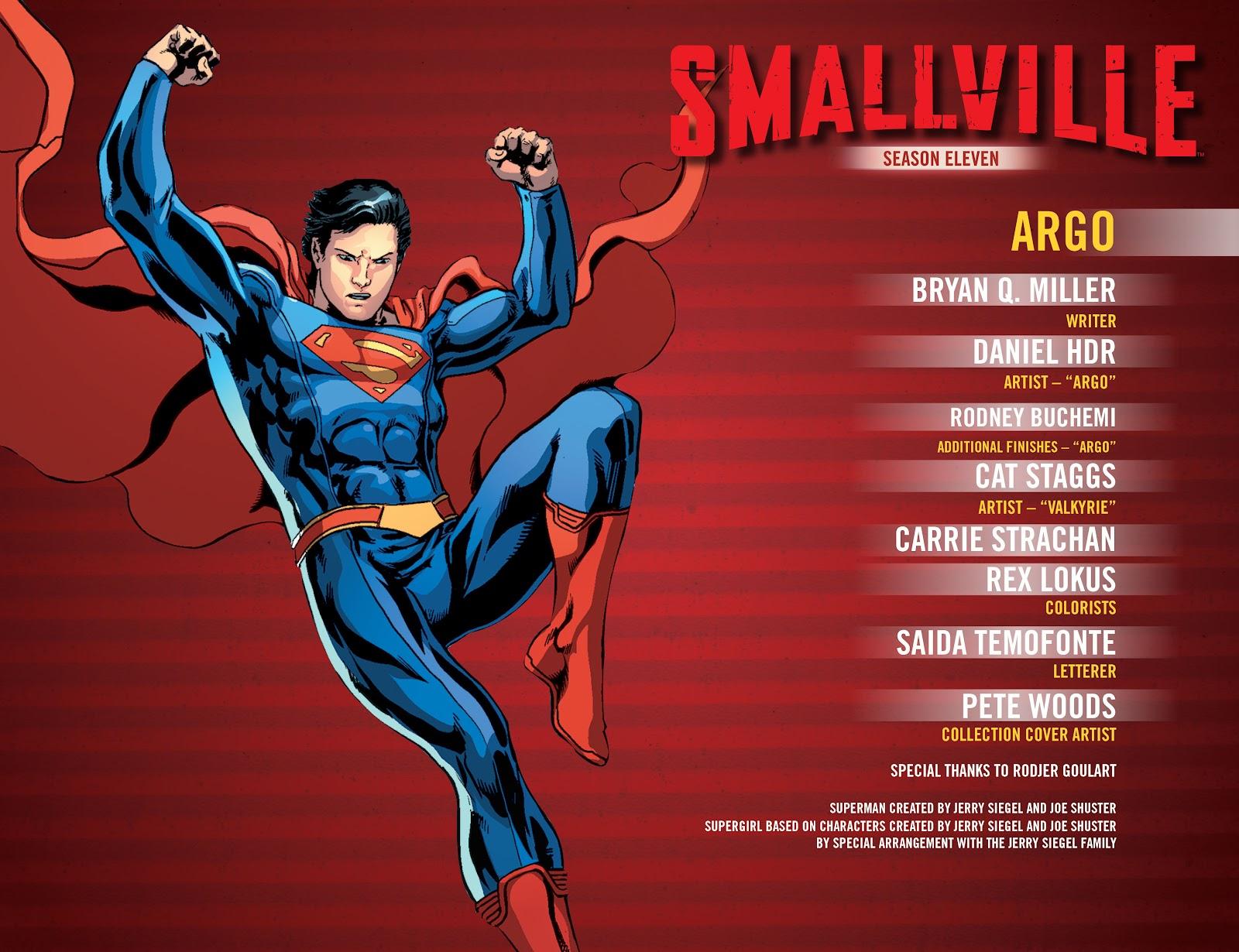 Read online Smallville Season 11 [II] comic -  Issue # TPB 4 - 3