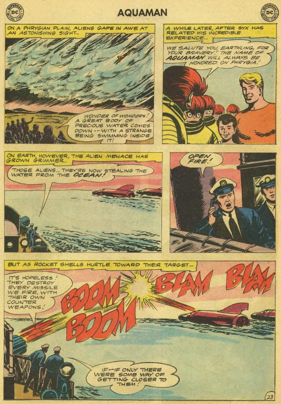 Read online Aquaman (1962) comic -  Issue #8 - 29