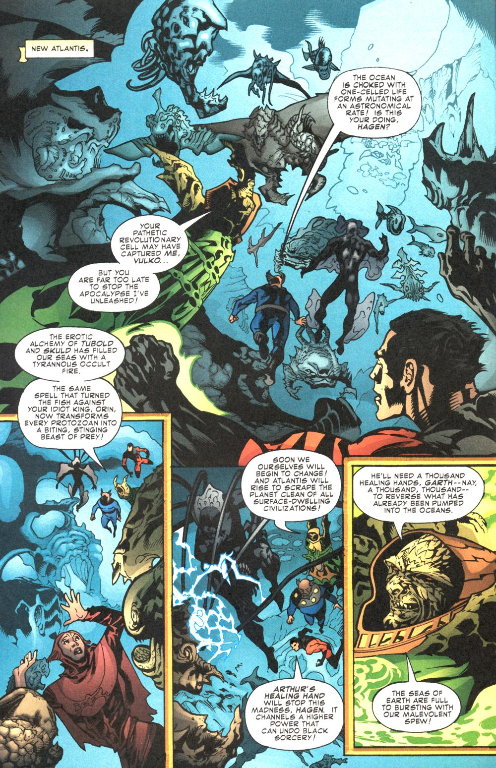 Read online Aquaman (2003) comic -  Issue #12 - 10