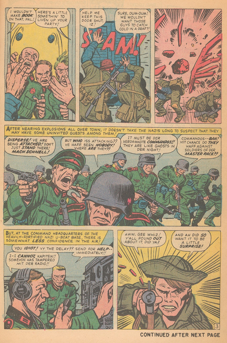 Read online Sgt. Fury comic -  Issue #95 - 5