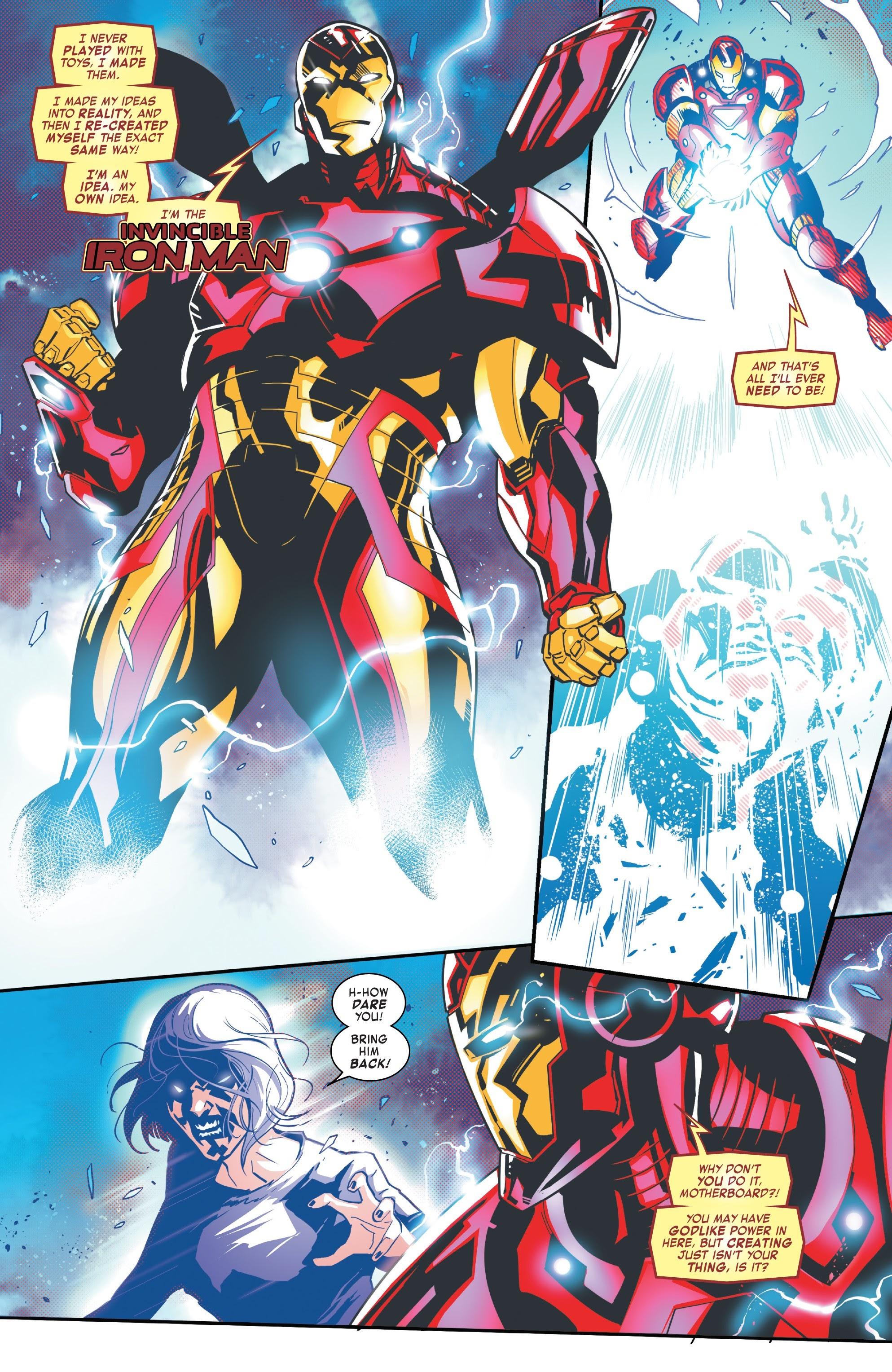 Read online Tony Stark: Iron Man comic -  Issue #10 - 17