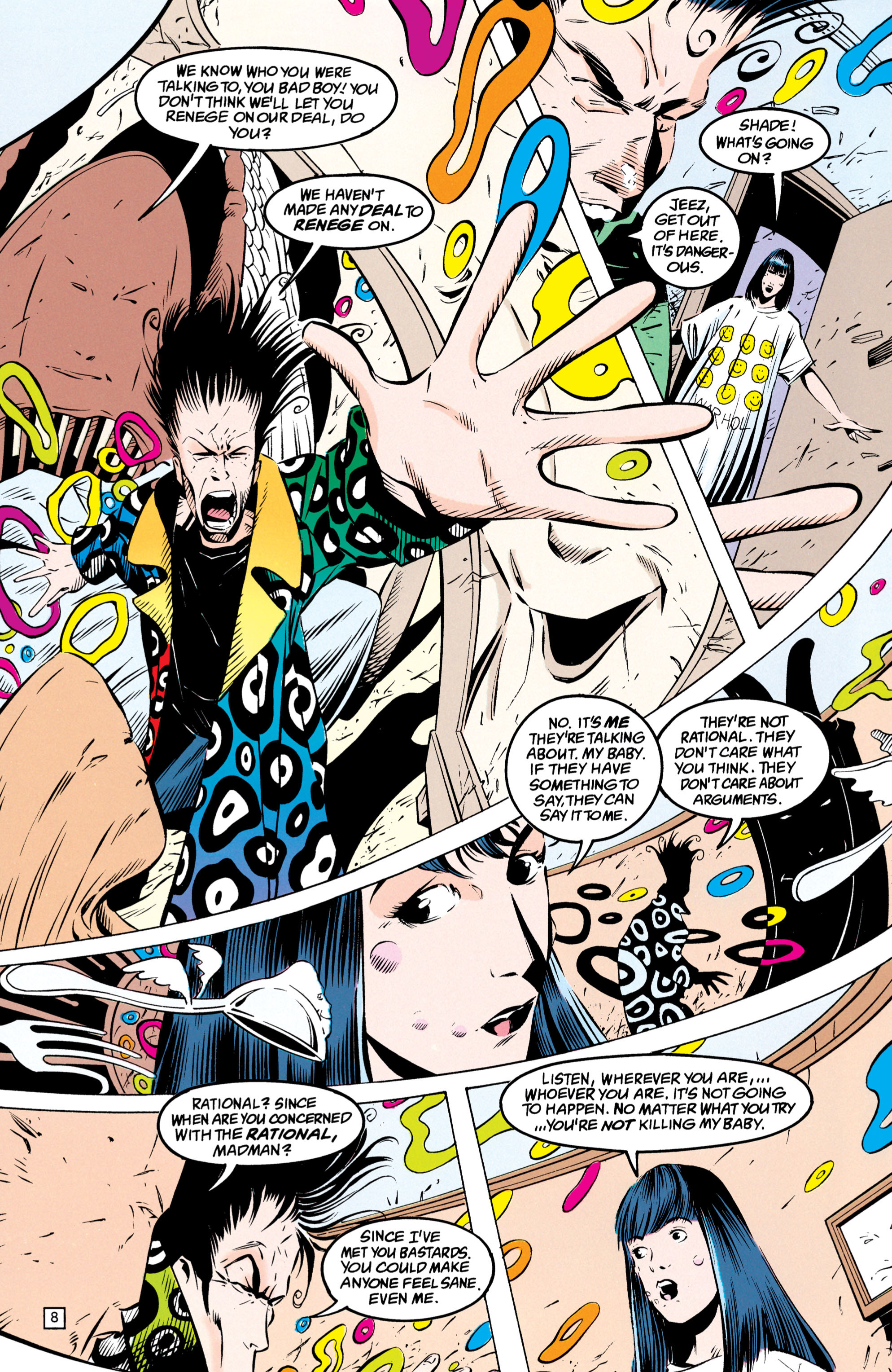 Read online Shade, the Changing Man comic -  Issue #49 - 9