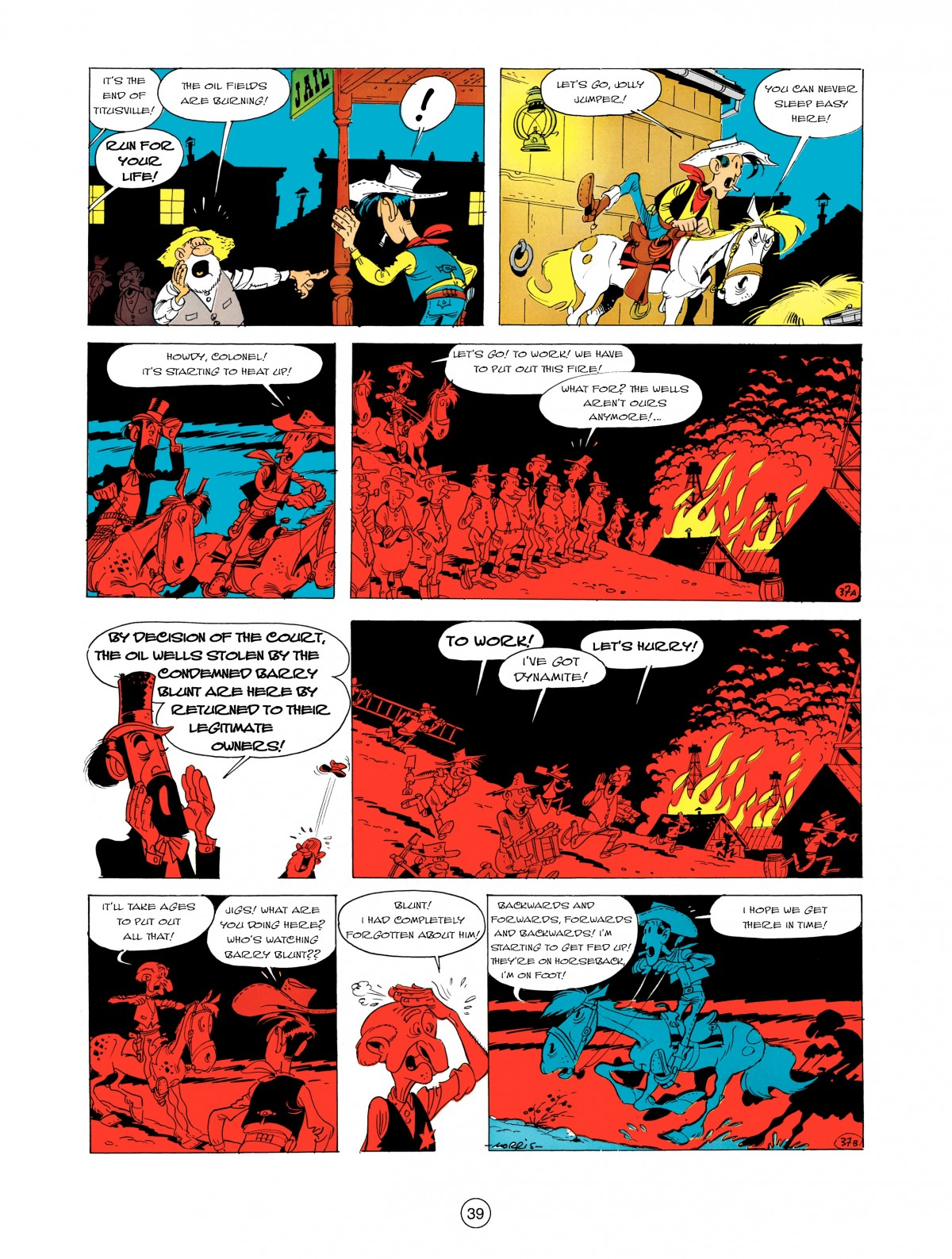 A Lucky Luke Adventure 5 Page 40