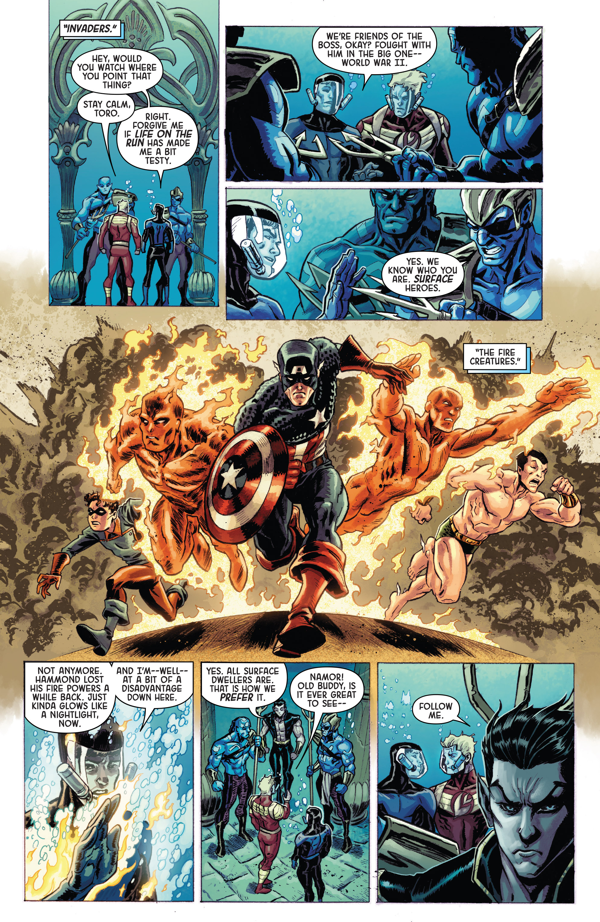Read online Secret Empire: Brave New World comic -  Issue #1 - 5