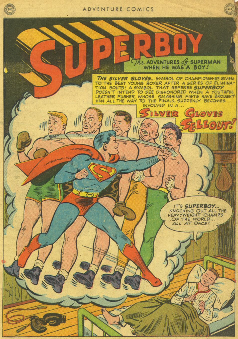 Read online Adventure Comics (1938) comic -  Issue #134 - 3