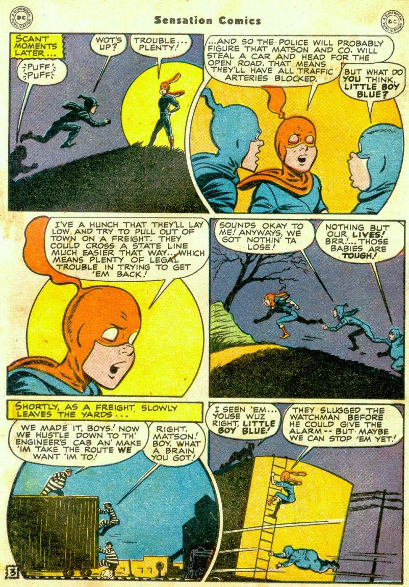 Read online Sensation (Mystery) Comics comic -  Issue #65 - 18