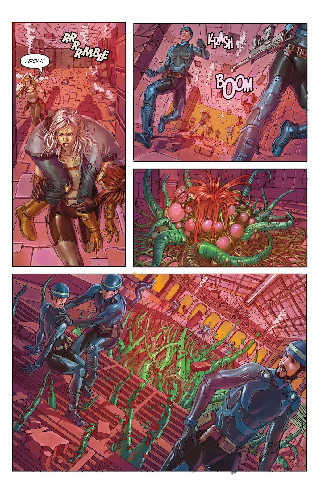 Read online Taarna comic -  Issue #4 - 21