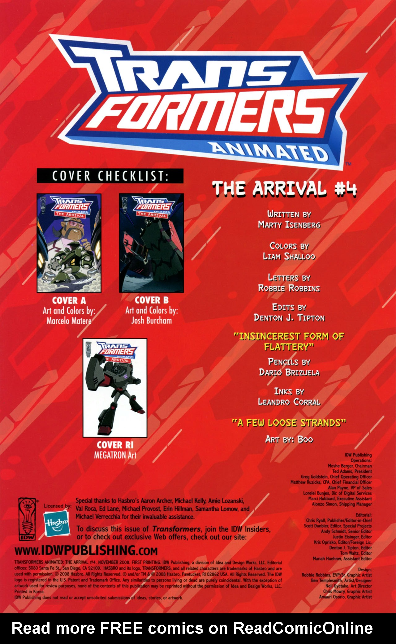 Read online Transformers Animated: The Arrival comic -  Issue #4 - 3
