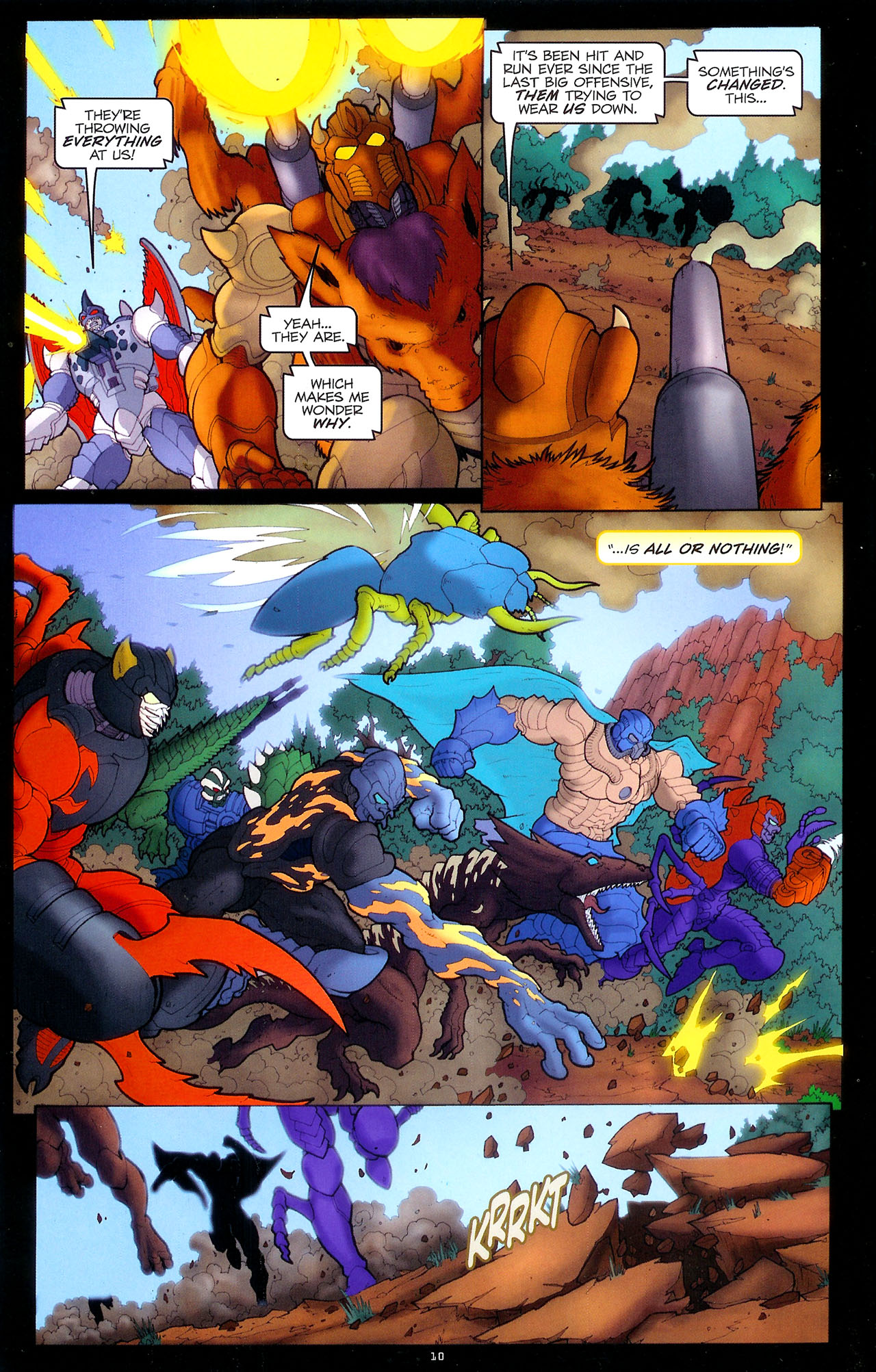 Read online Transformers: Beast Wars: The Ascending comic -  Issue #1 - 12