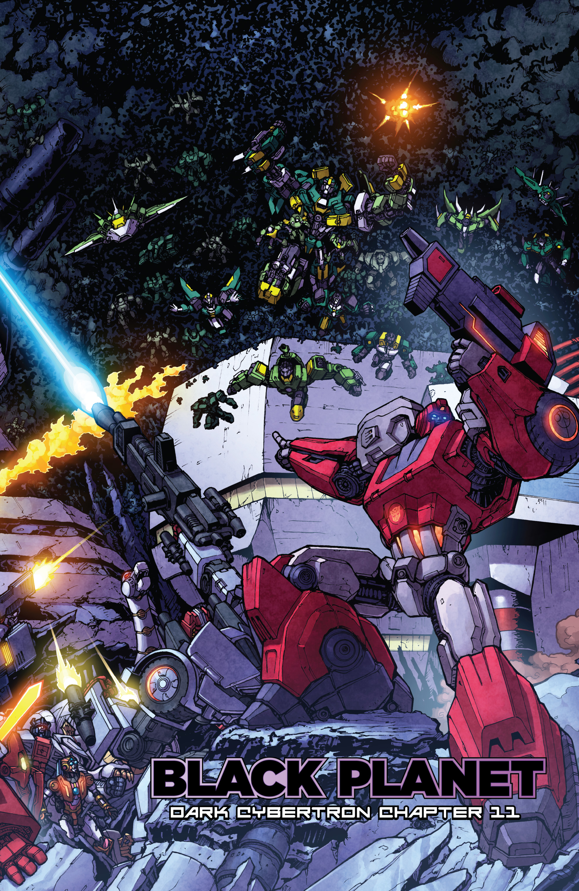 Read online The Transformers: Dark Cybertron Finale comic -  Issue # Full - 104