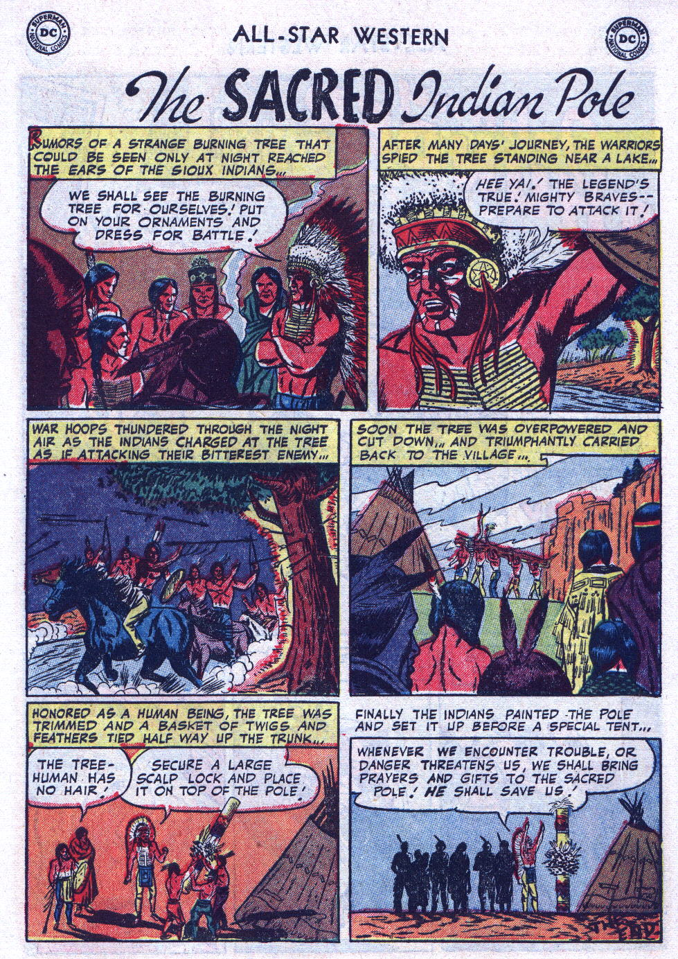Read online All-Star Western (1951) comic -  Issue #74 - 27