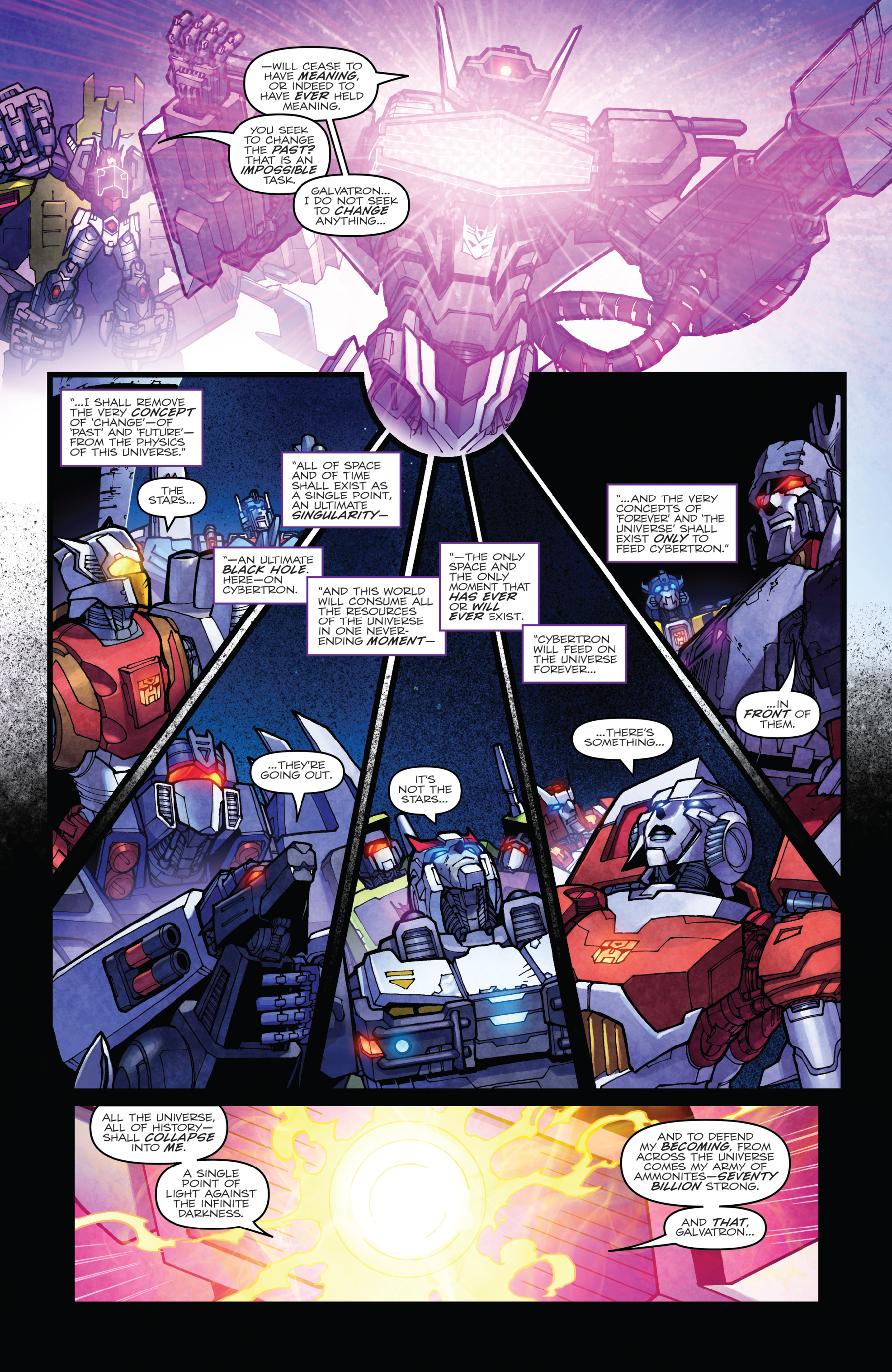 Read online The Transformers: Dark Cybertron Finale comic -  Issue # Full - 98
