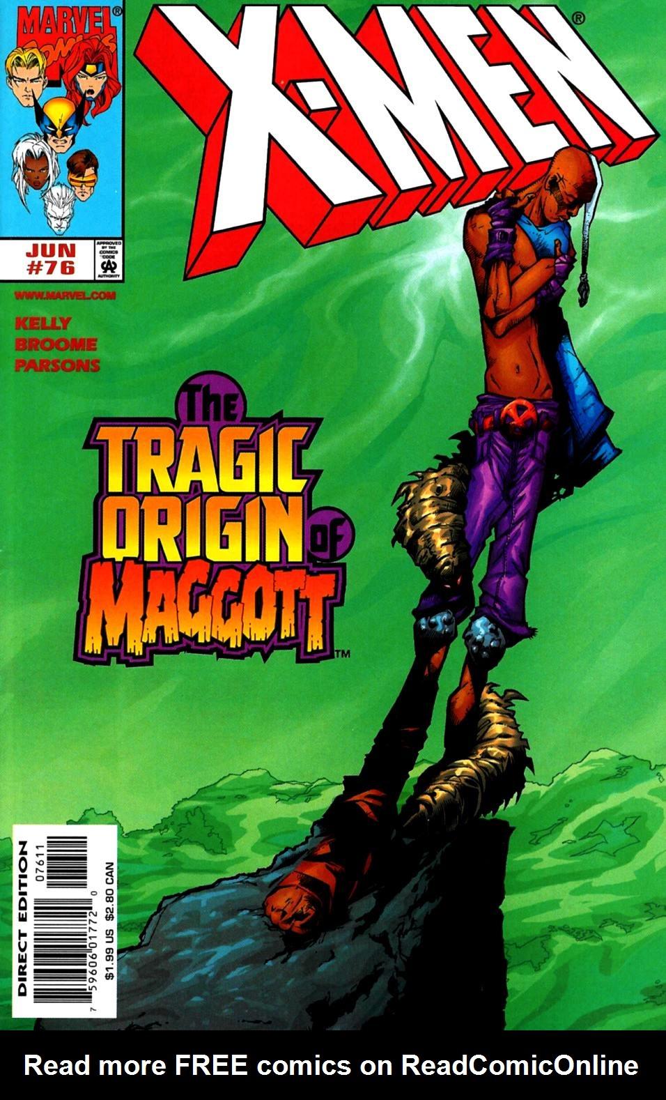 X-Men (1991) 76 Page 0