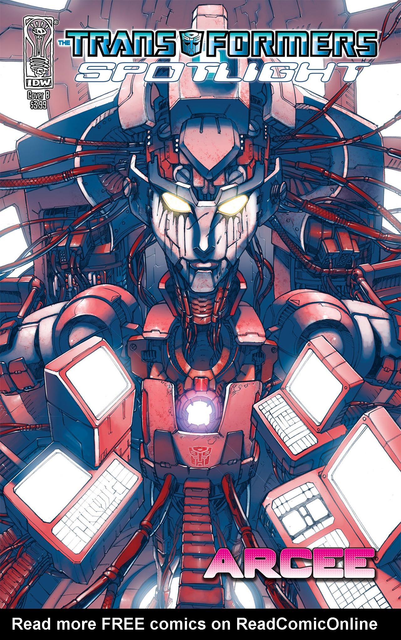 Read online Transformers: Spotlight - Arcee comic -  Issue # Full - 2