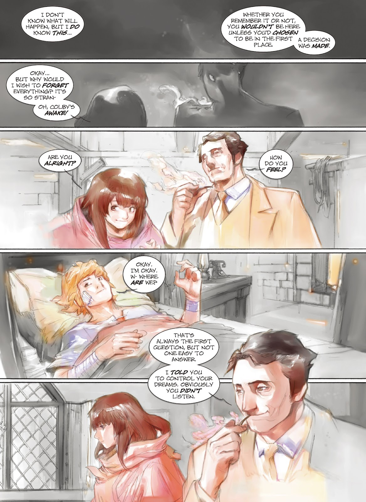 Read online Makeshift Miracle: The Girl From Nowhere comic -  Issue #9 - 4