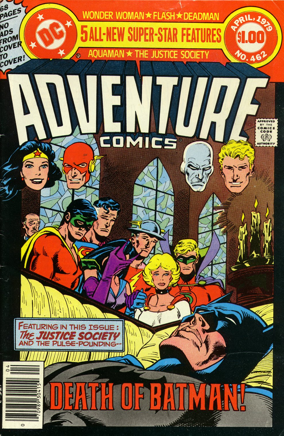 Read online Adventure Comics (1938) comic -  Issue #462 - 1